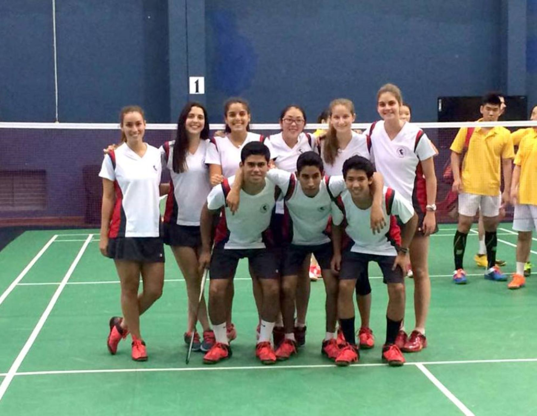 Equipo peruano de bádminton. Foto: Facebook.
