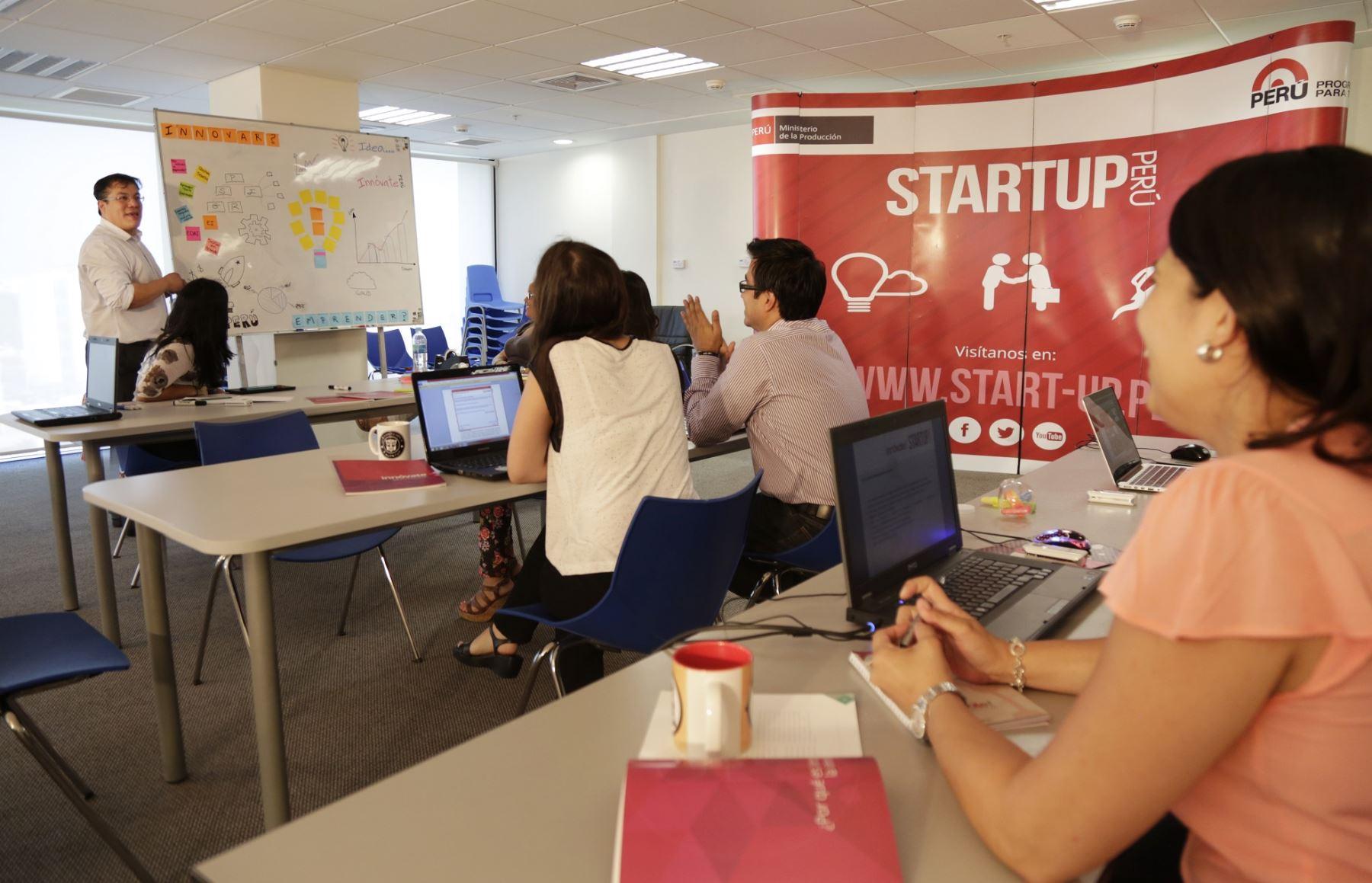 StartUp Perú. ANDINA/Difusión