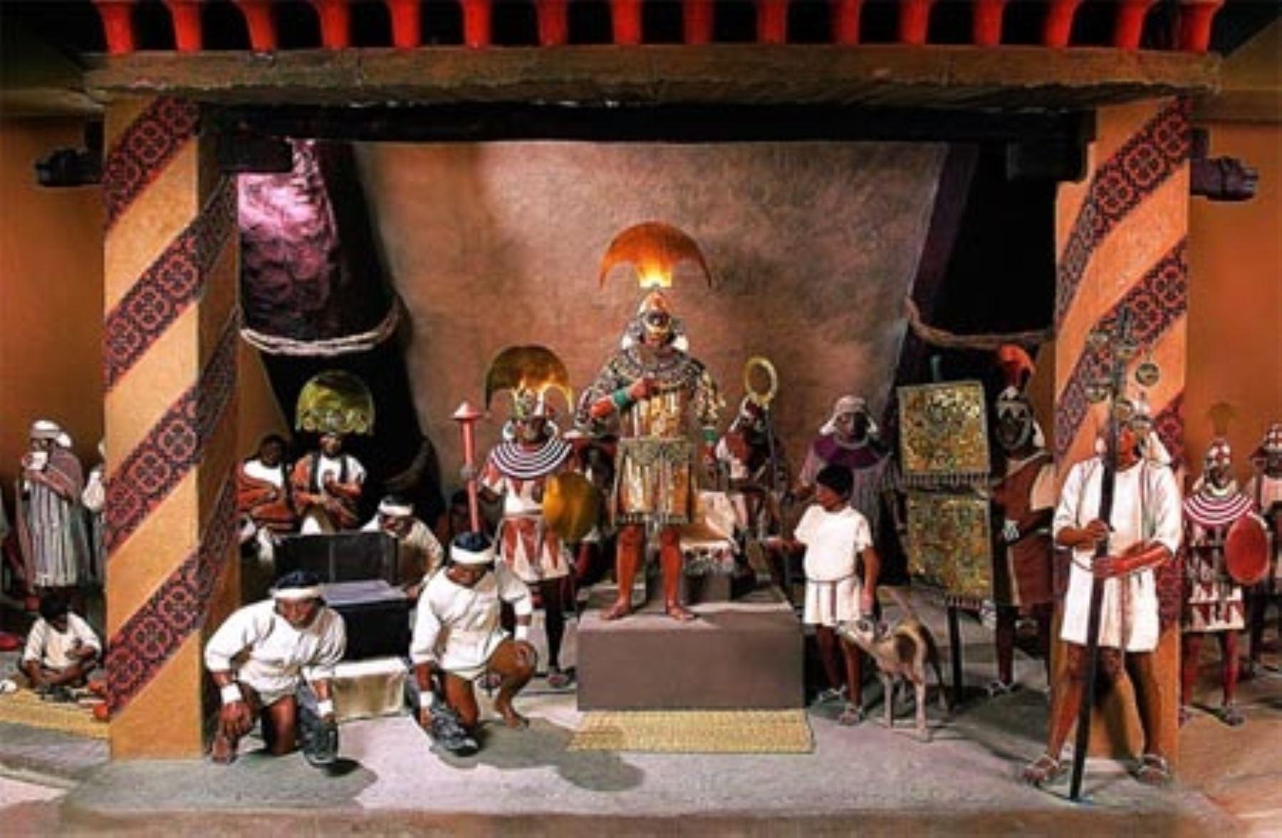 Comparan al Señor de Sipán con Tutankamón, el faraón egipcio. ANDINA/Difusión