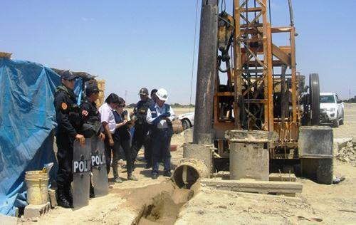 Sunass presenta proyecto de tarifa por uso de aguas subterráneas en Trujillo. ANDINA/Archivo