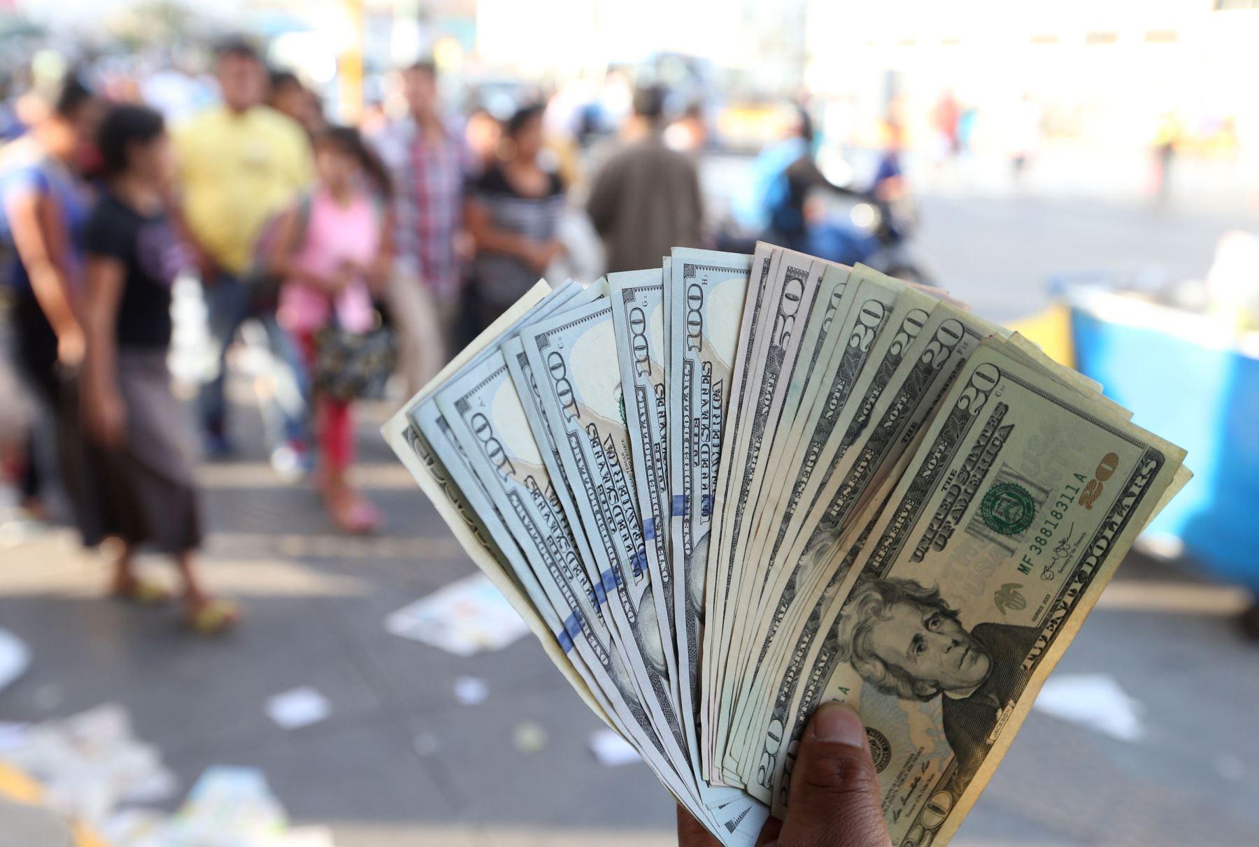 Dólares. Foto: ANDINA/Vidal Tarqui