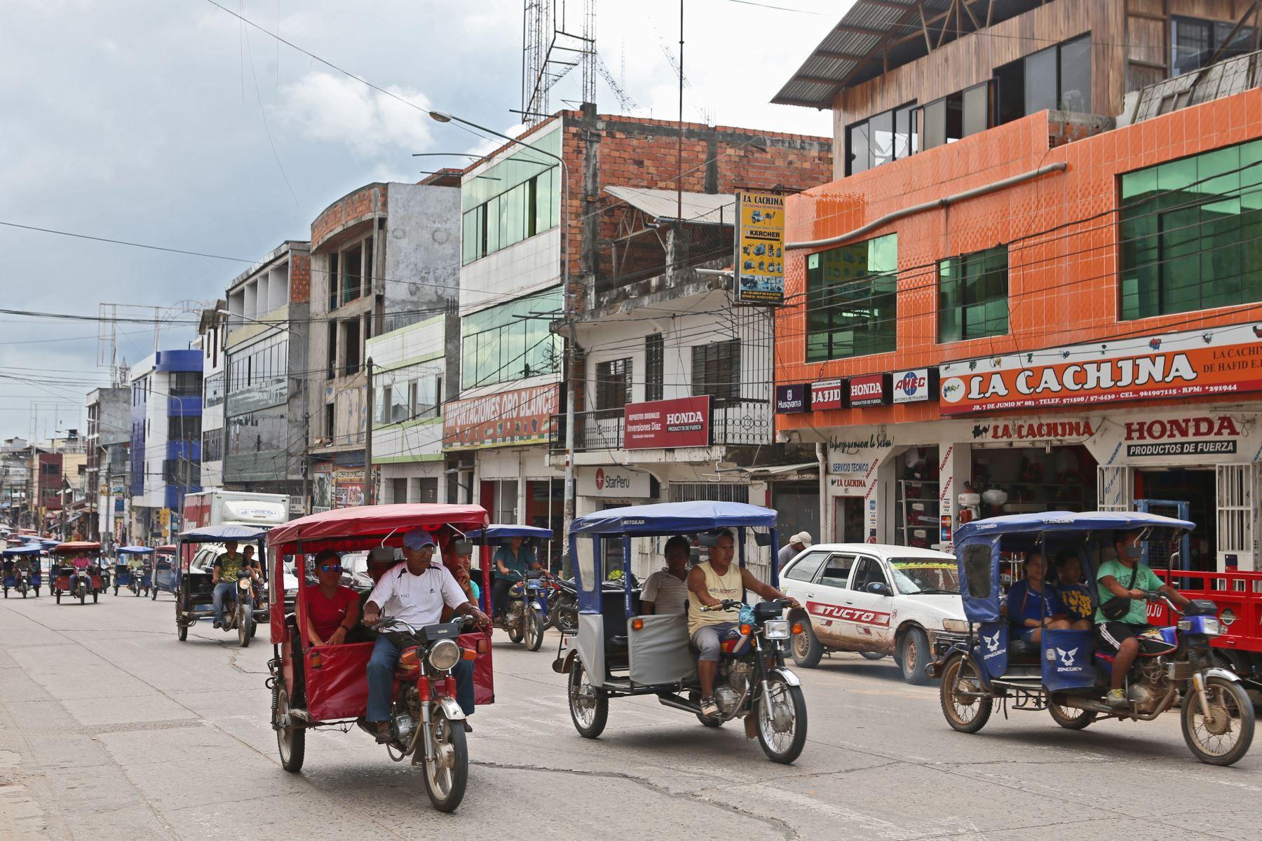 La ciudad de Pucallpa, región Ucayali, fue remecida esta tarde por un sismo de magnitud 4.6. ANDINA/archivo