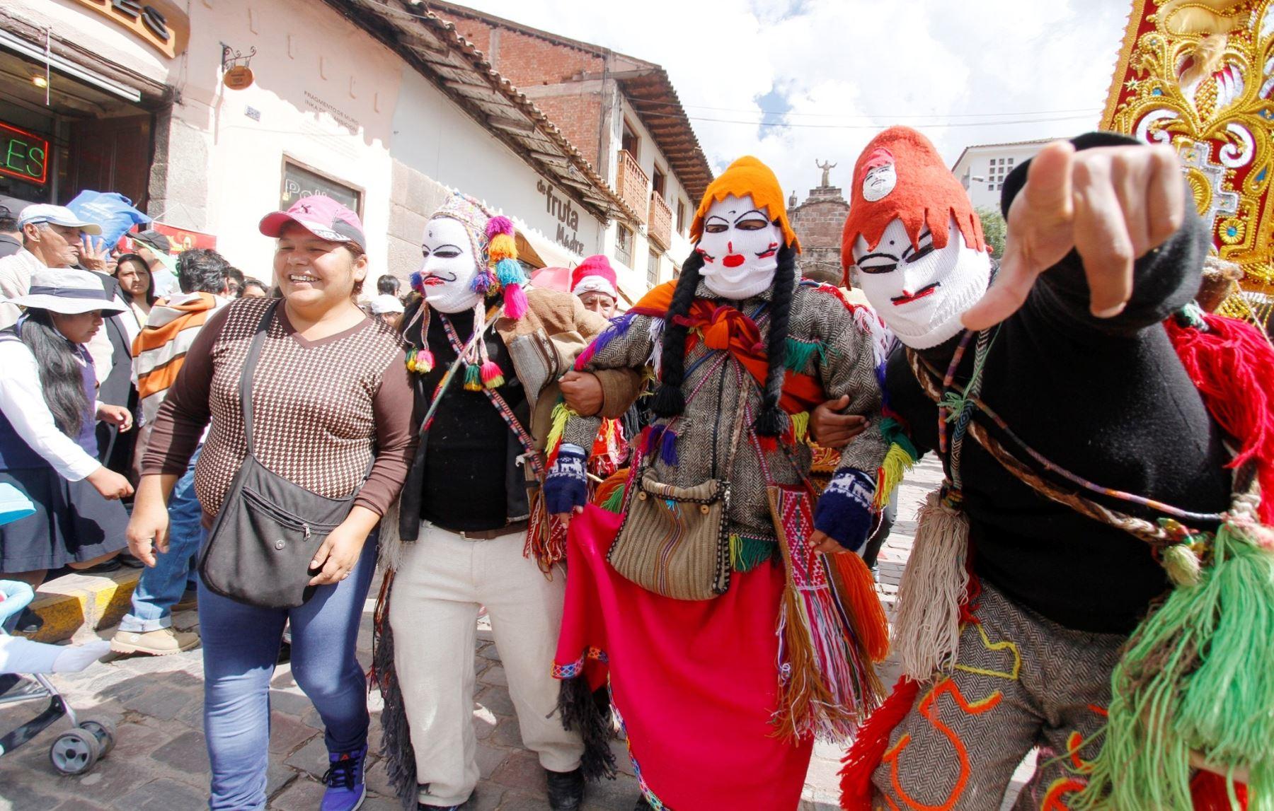 Cusco vive una fiesta con el Corpus Christi. ANDINA/Percy Hurtado