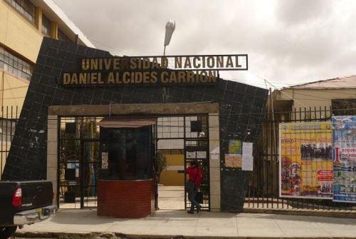 Sunedu otorga licenciamiento a la Universidad Nacional Daniel Alcides Carrión de Pasco. ANDINA/Difusión