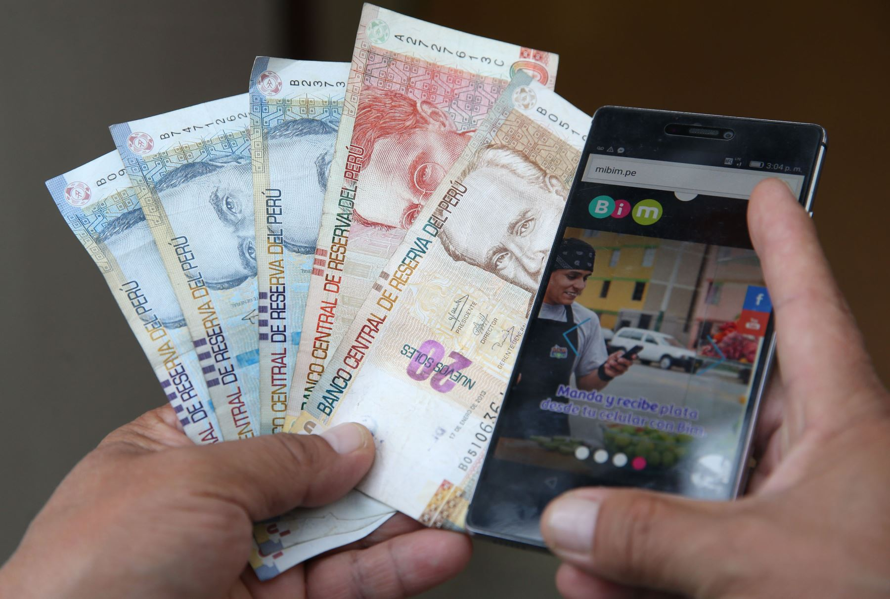 Dinero. Foto: ANDINA/Vidal Tarqui