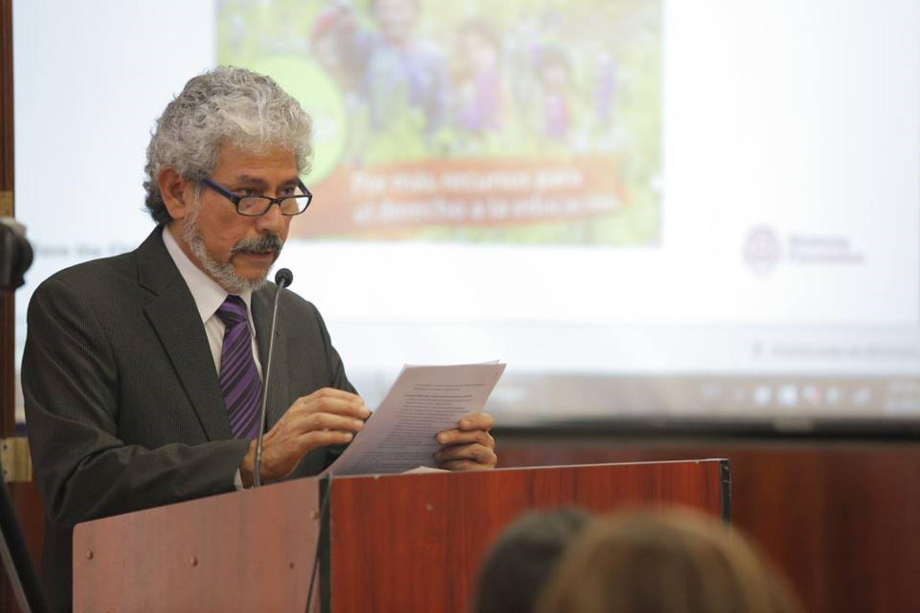 Isaac Ruiz, directivo del Centro de Estudios Sociales y Publicaciones-CESIP. Foto: Difusión