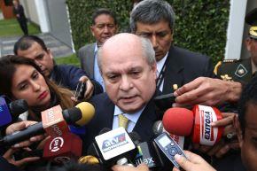 Extitular del Consejo de Ministros Pedro Cateriano. Foto: ANDINA/srchivo.