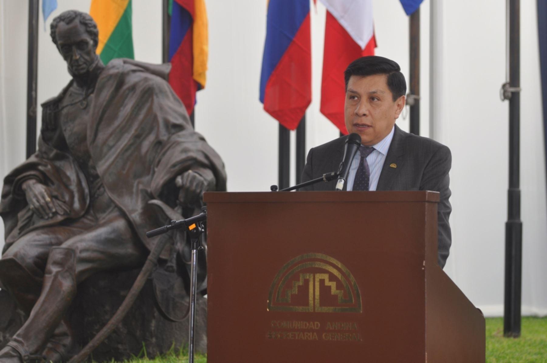 Secretario General de la Comunidad Andina, Walker San Miguel. ANDINA/Difusión