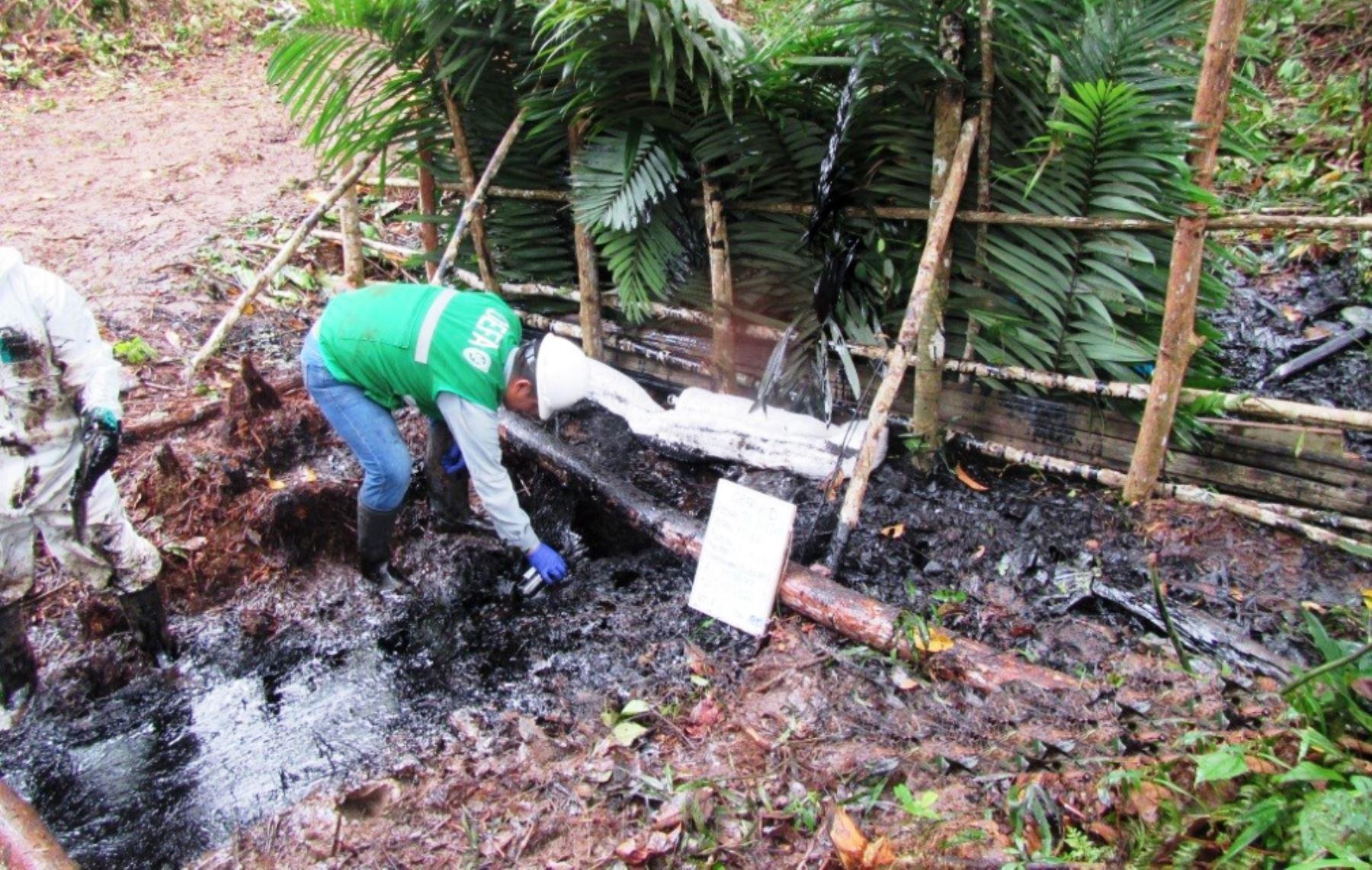 OEFA inicia supervisión ante nuevo derrame en Oleoducto en Loreto.Foto:  ANDINA/Archivo.