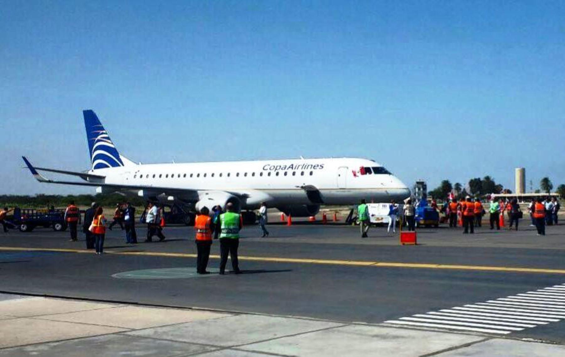Reactivación turística: se reinician los vuelos directos Panamá-Chiclayo