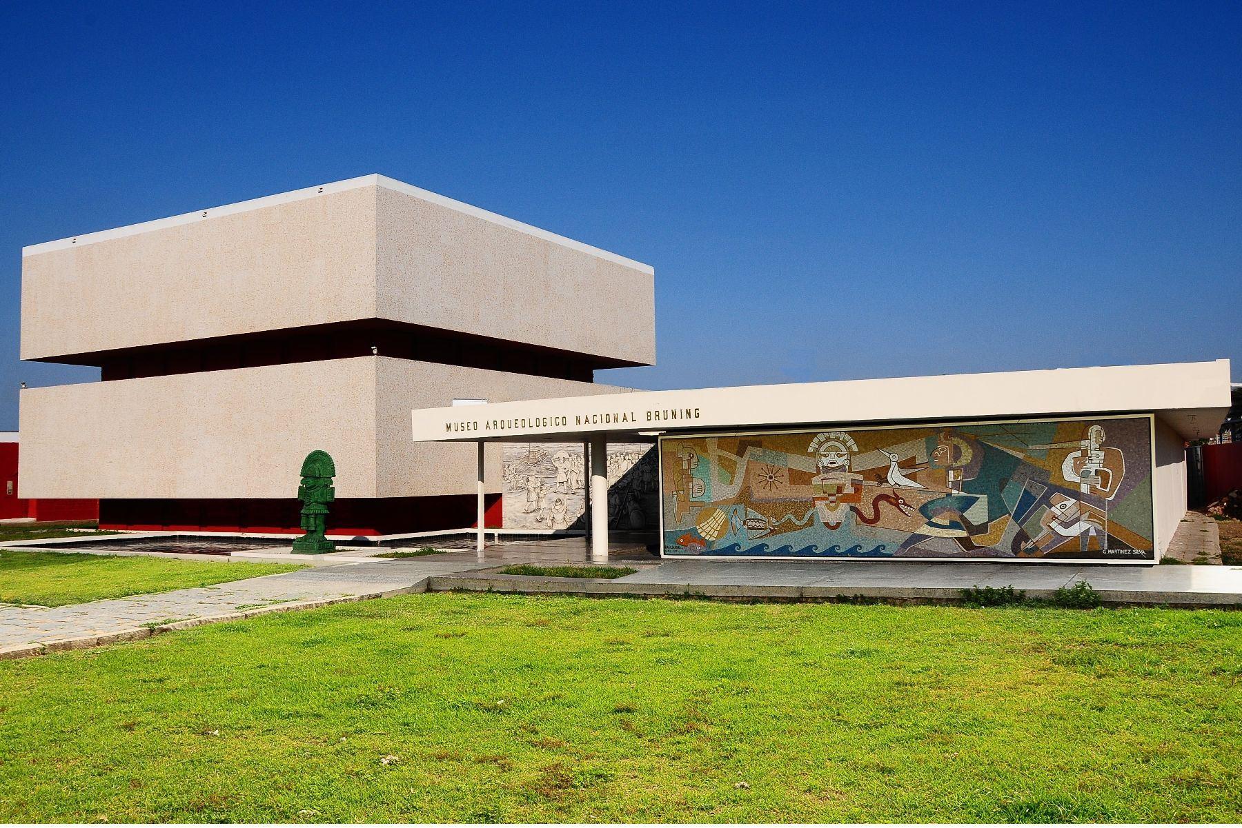 Museo Arqueológico Nacional Brüning, en la región Lambayeque. ANDINA/Difusión