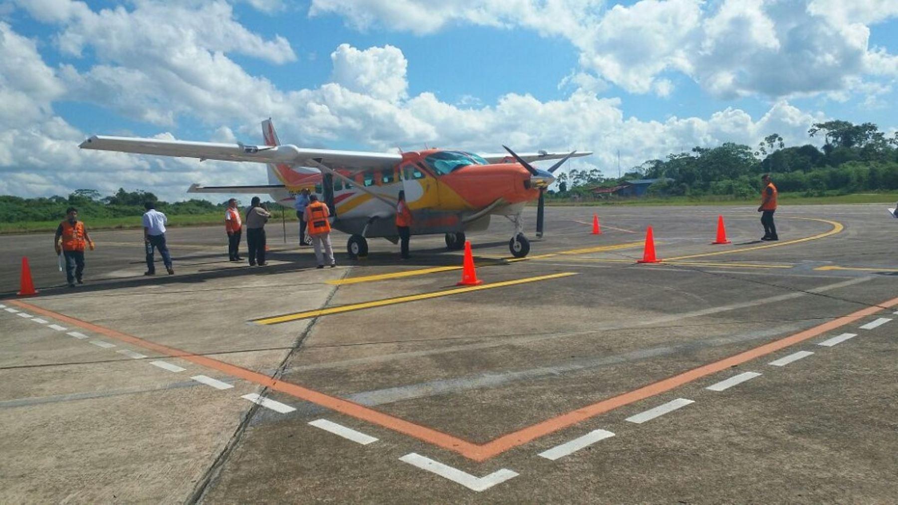 El Ministerio de Transportes y Comunicaciones (MTC)  informó que se iniciaron los vuelos subsidiados del cuarto paquete de la ruta: Puerto Maldonado-Manu-Puerto Maldonado y Puerto Maldonado- Puerto Esperanza-Puerto Maldonado, trayecto que está dentro del Programa de Integración Amazónica por vía aérea impulsado por el sector.
