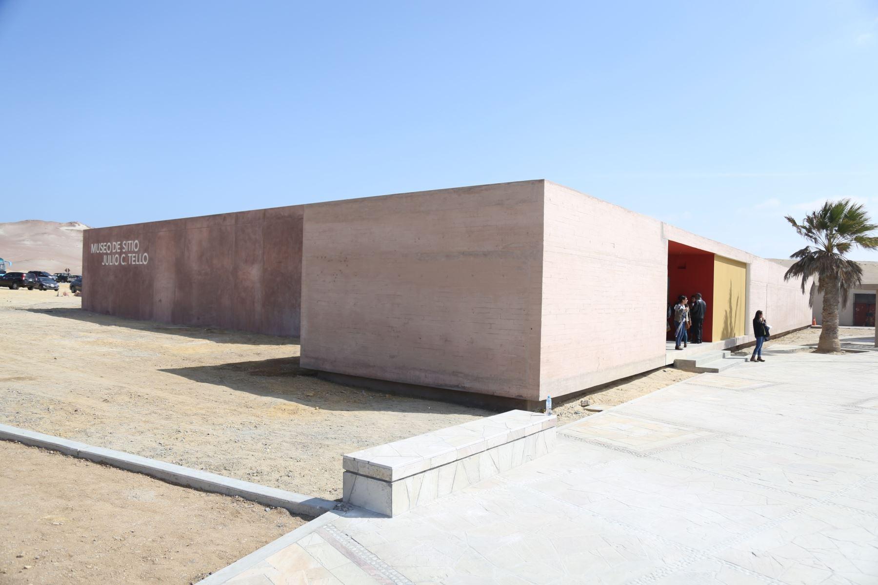 Museo de sitio Julio C. Tello Foto: Ministerio de Cultura