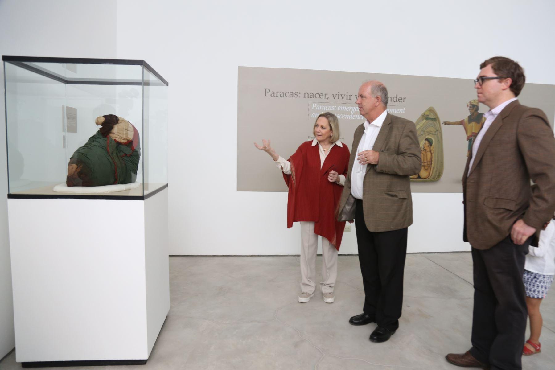 Más de 120 piezas representativas de la cultura Paracas se exhibe en museo de sitio Julio C. Tello  Foto: Ministerio de Cultura