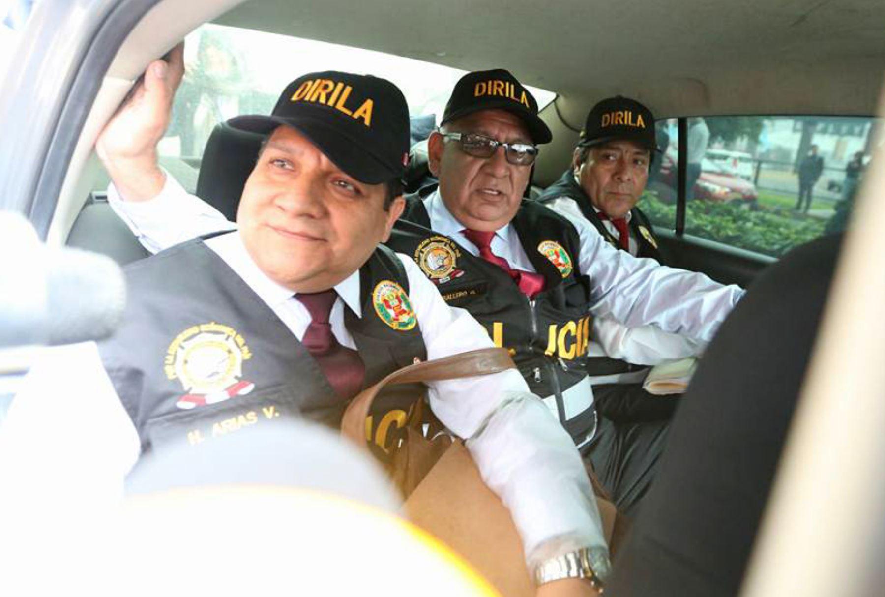 Personal especializado participó en la incautación de inmuebles vinculados al caso Ecoteva. Foto: ANDINA/Vidal Tarqui.