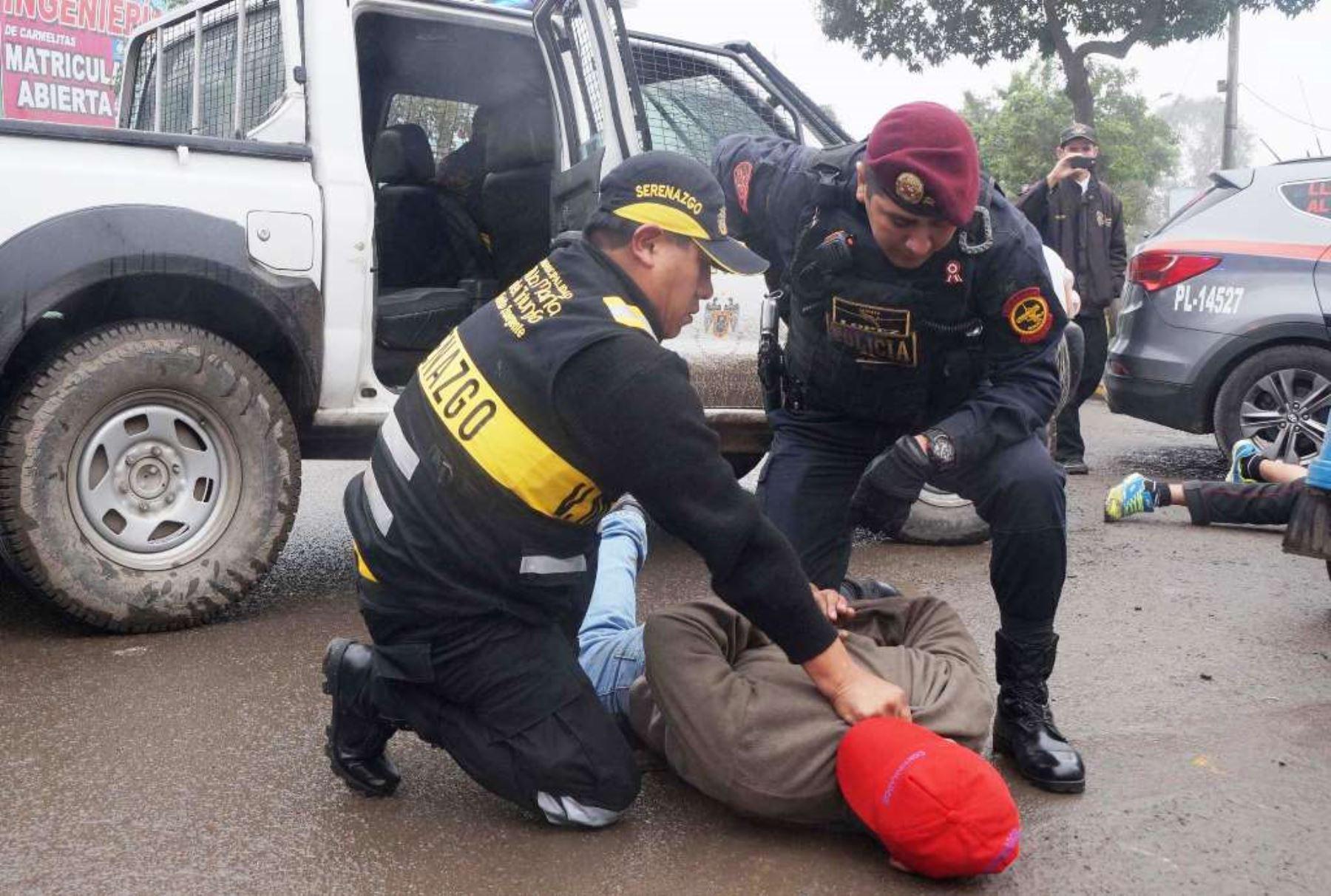 Plan de seguridad ciudadana para los próximos 100 días presentó Ministerio del Interior. ANDINA/Difusión