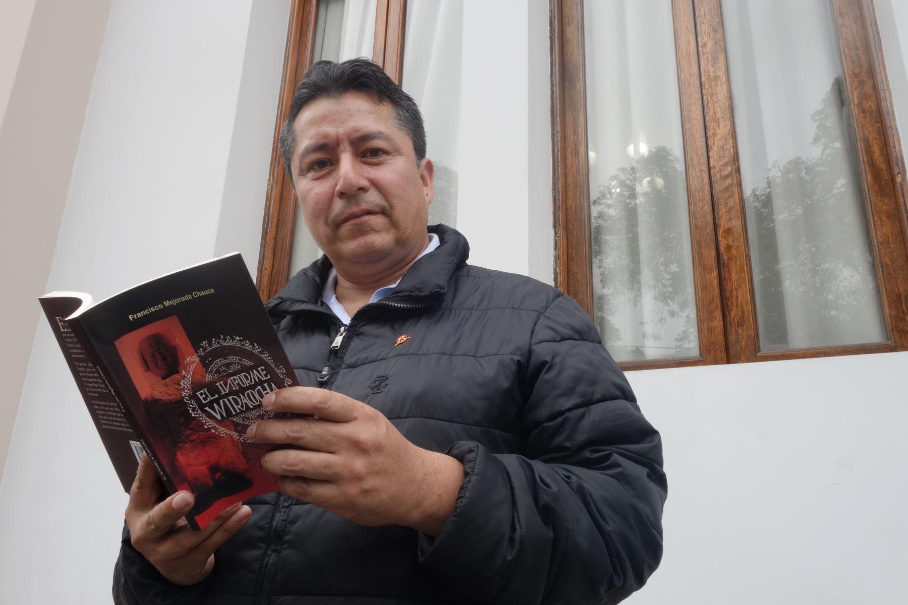 Escritor Francisco Mejorada. Foto: José Vadillo