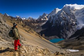 Sistema de localización permitió ubicar a turistas extraviados en Cordillera Huayhuash, Áncash. ANDINA/Difusión