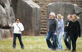 Cusco es uno de los destinos preferidos por los turistas extranjeros que visitan el Perú. ANDINA/Percy Hurtado Santillán