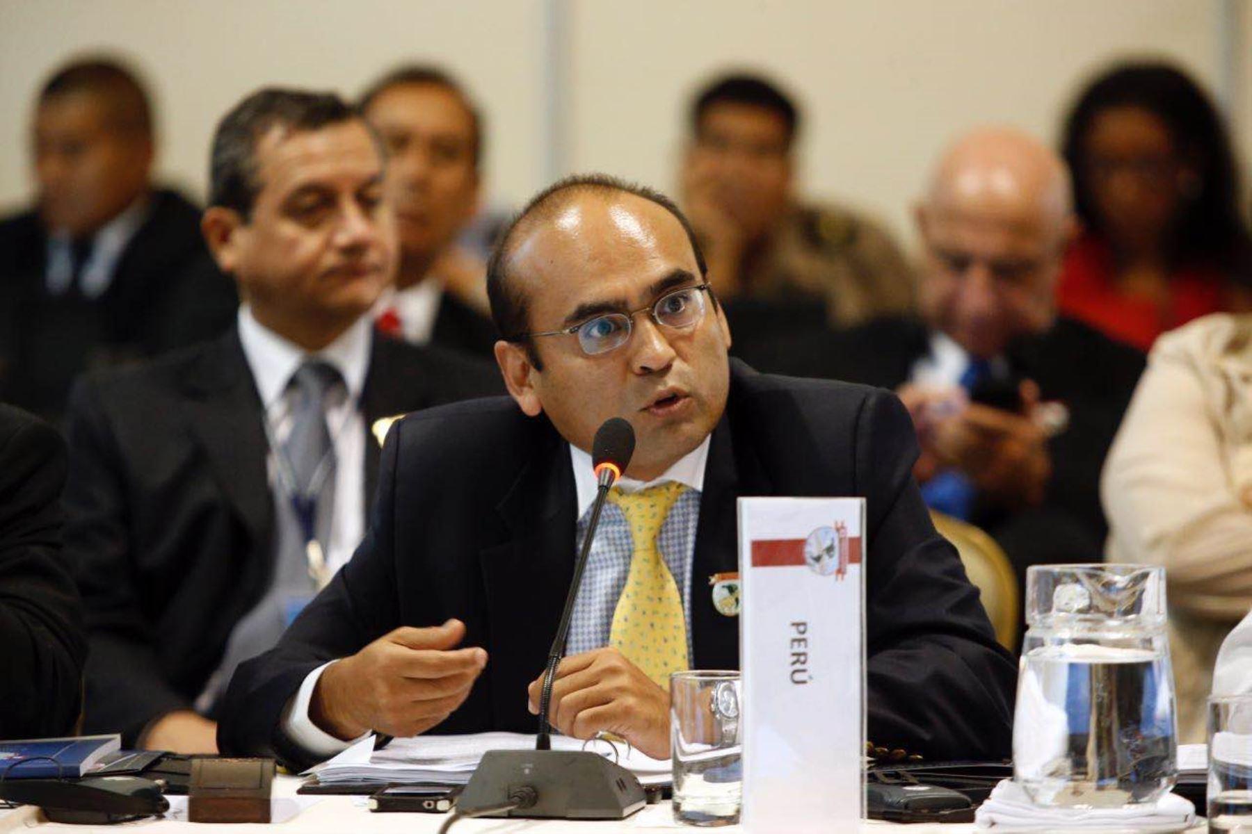 Viceministro para la Defensa, Librado Orozco. Foto: Mindef.