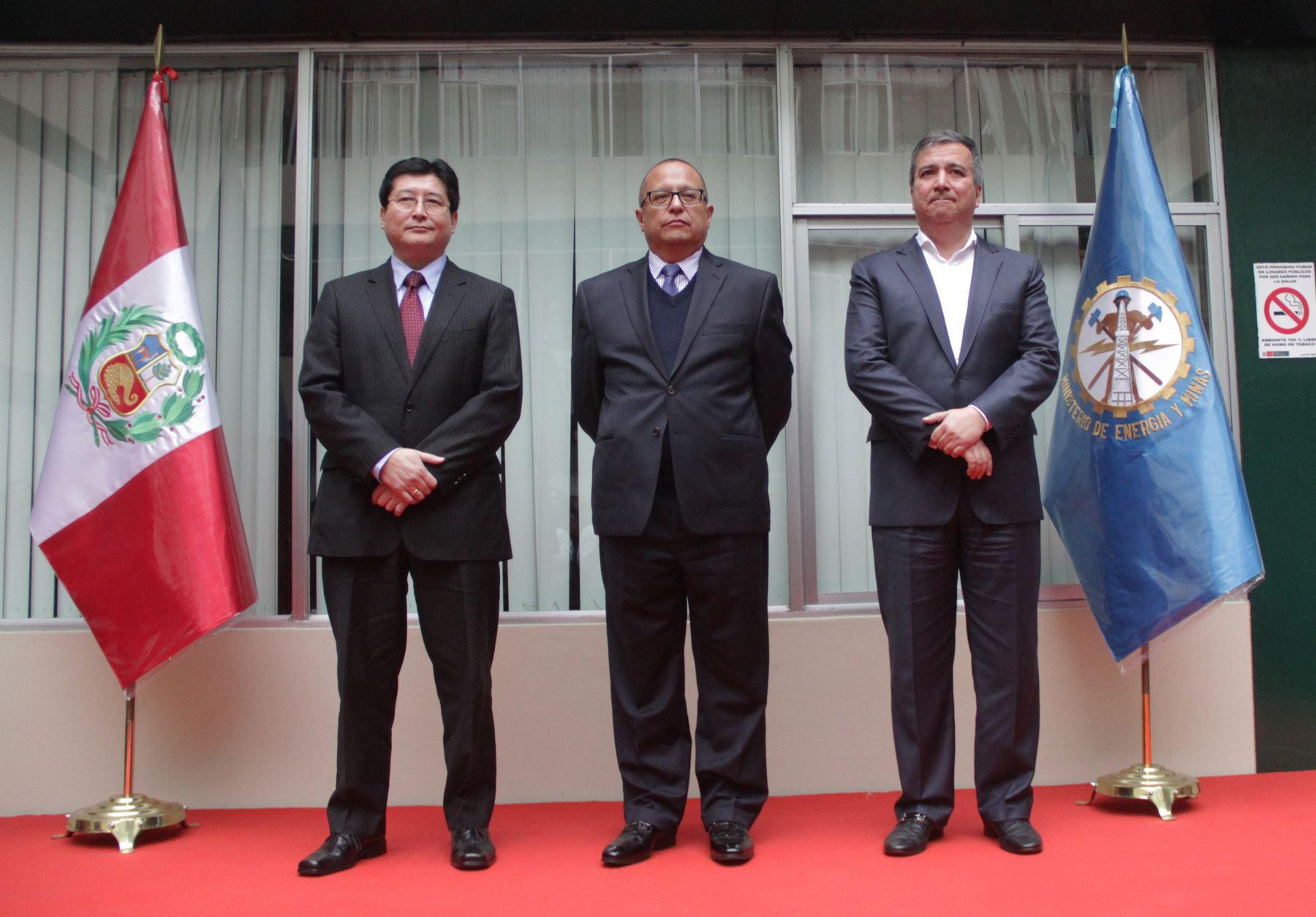 Economista Gonzalo Tamayo Flores asumió  formalmente sus funciones como titular del MEM. Difusión
