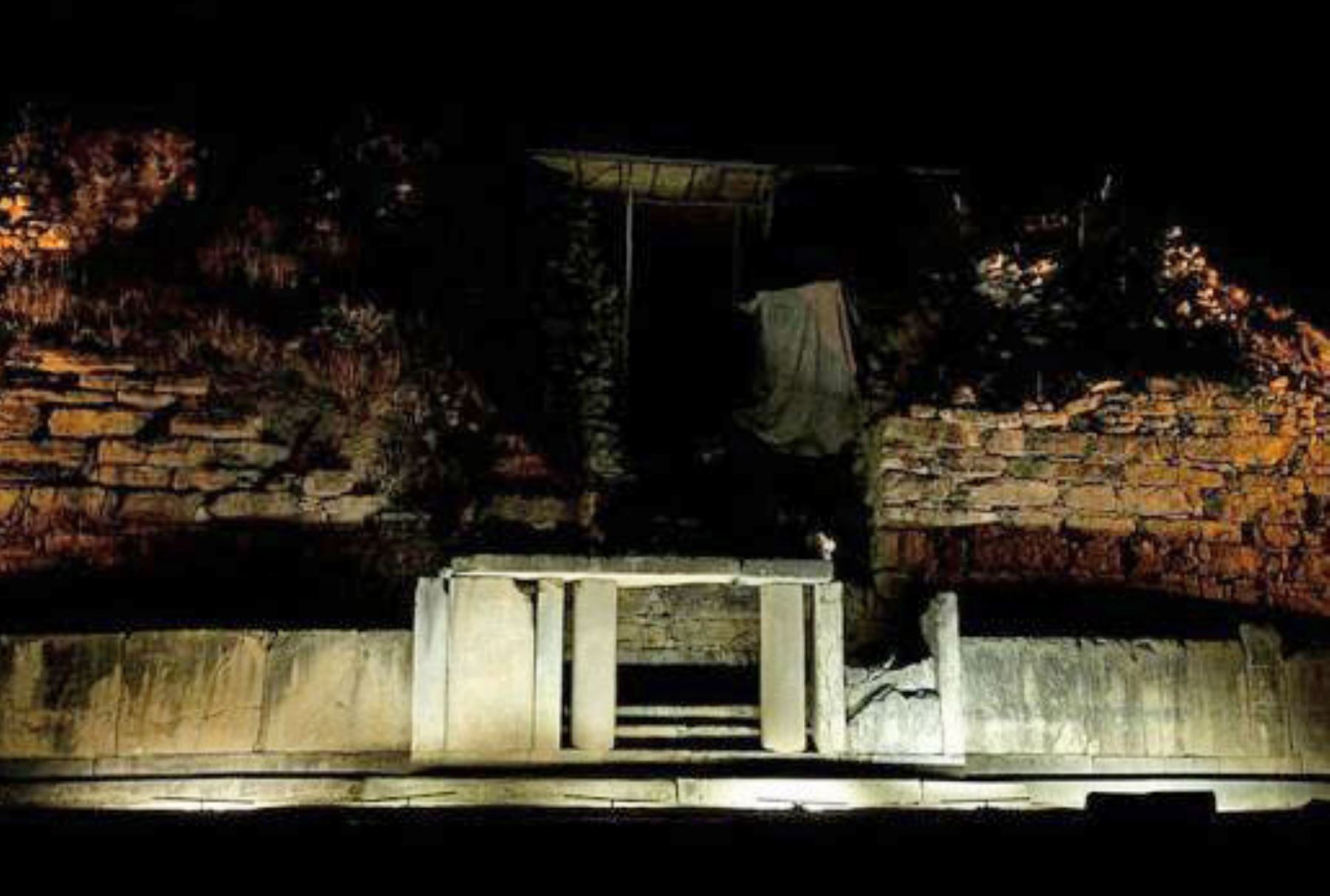 Áncash propone poner en valor el complejo arqueológico Chavín de Huántar. ANDINA/Difusión