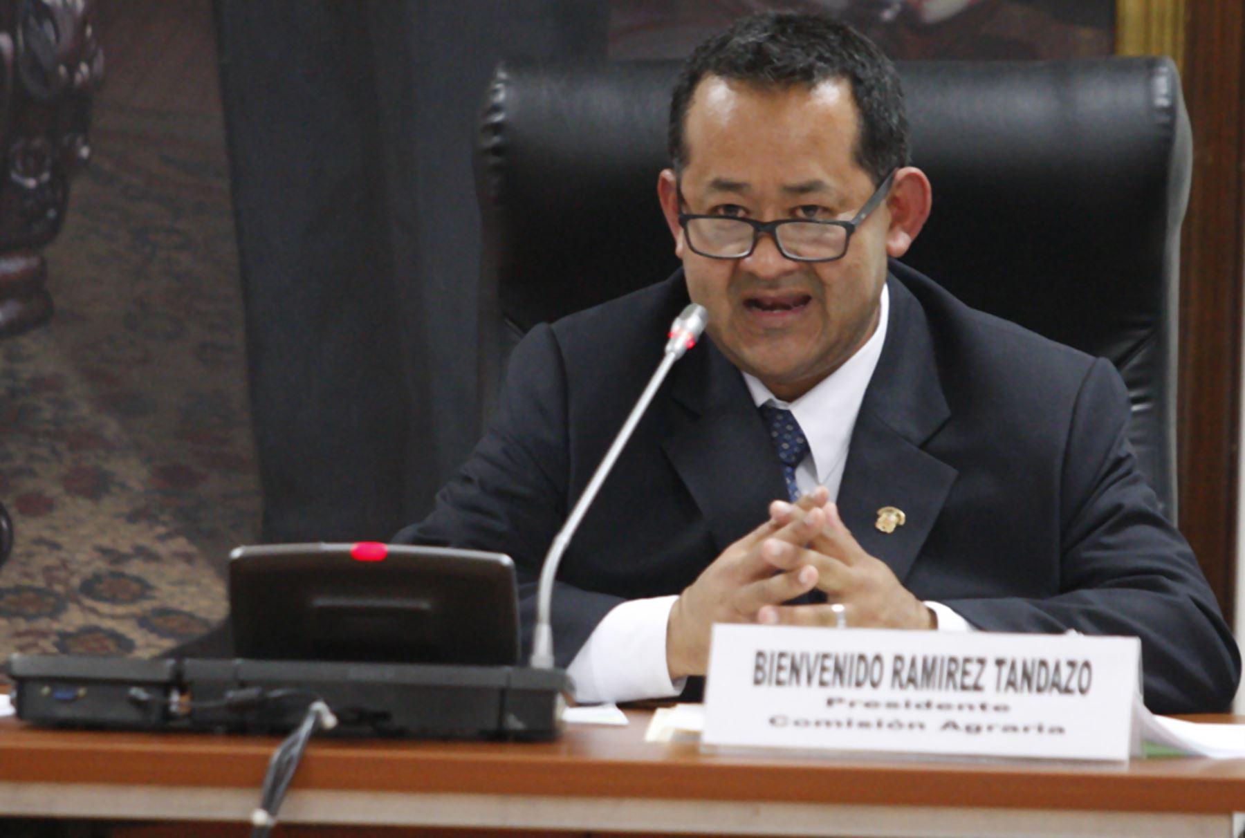 Congresista Bienvenido Ramírez. Foto: ANDINA