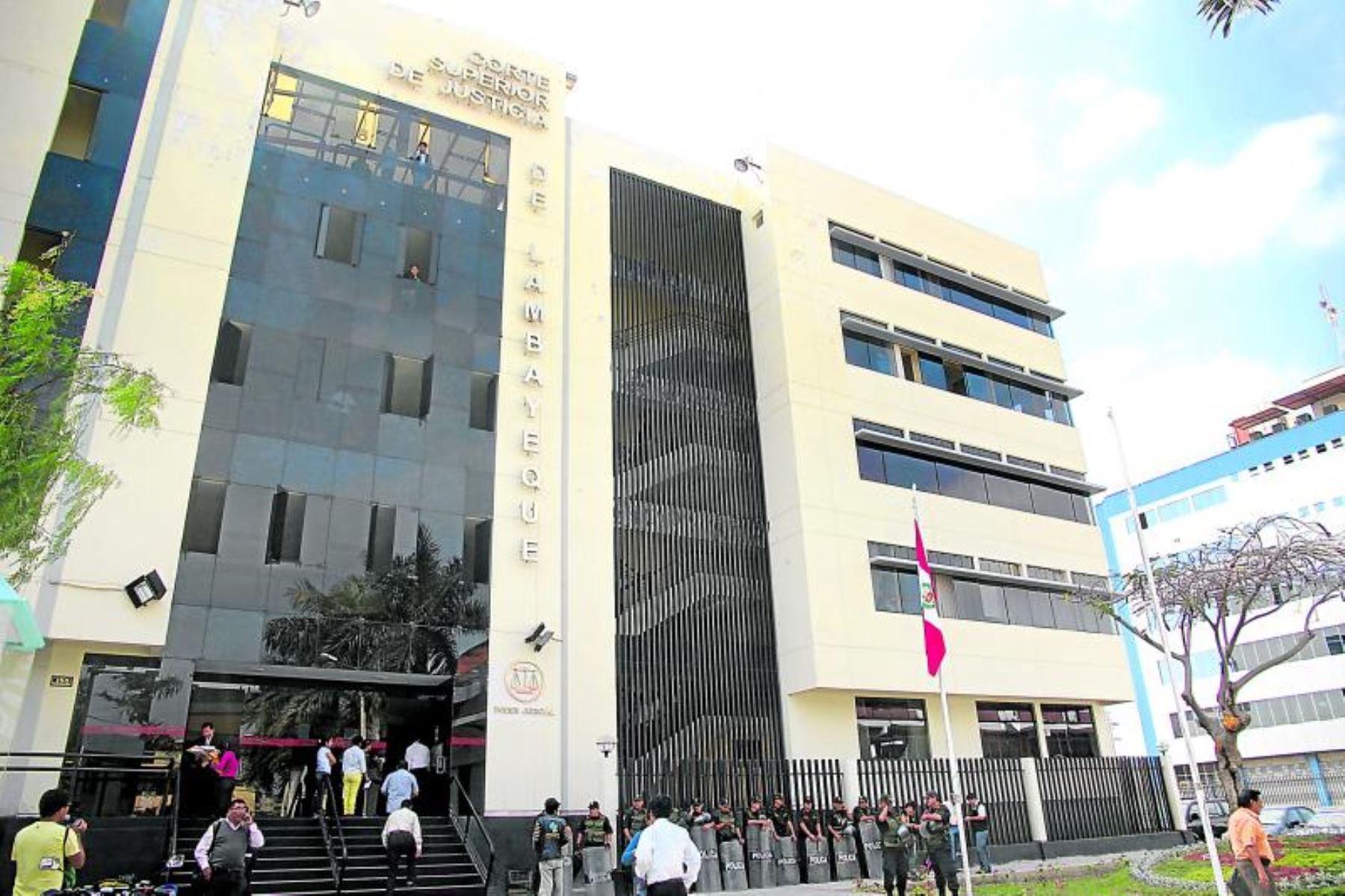 Corte de Lambayeque inaugura módulo para atender casos de violencia. ANDINA/Difusión