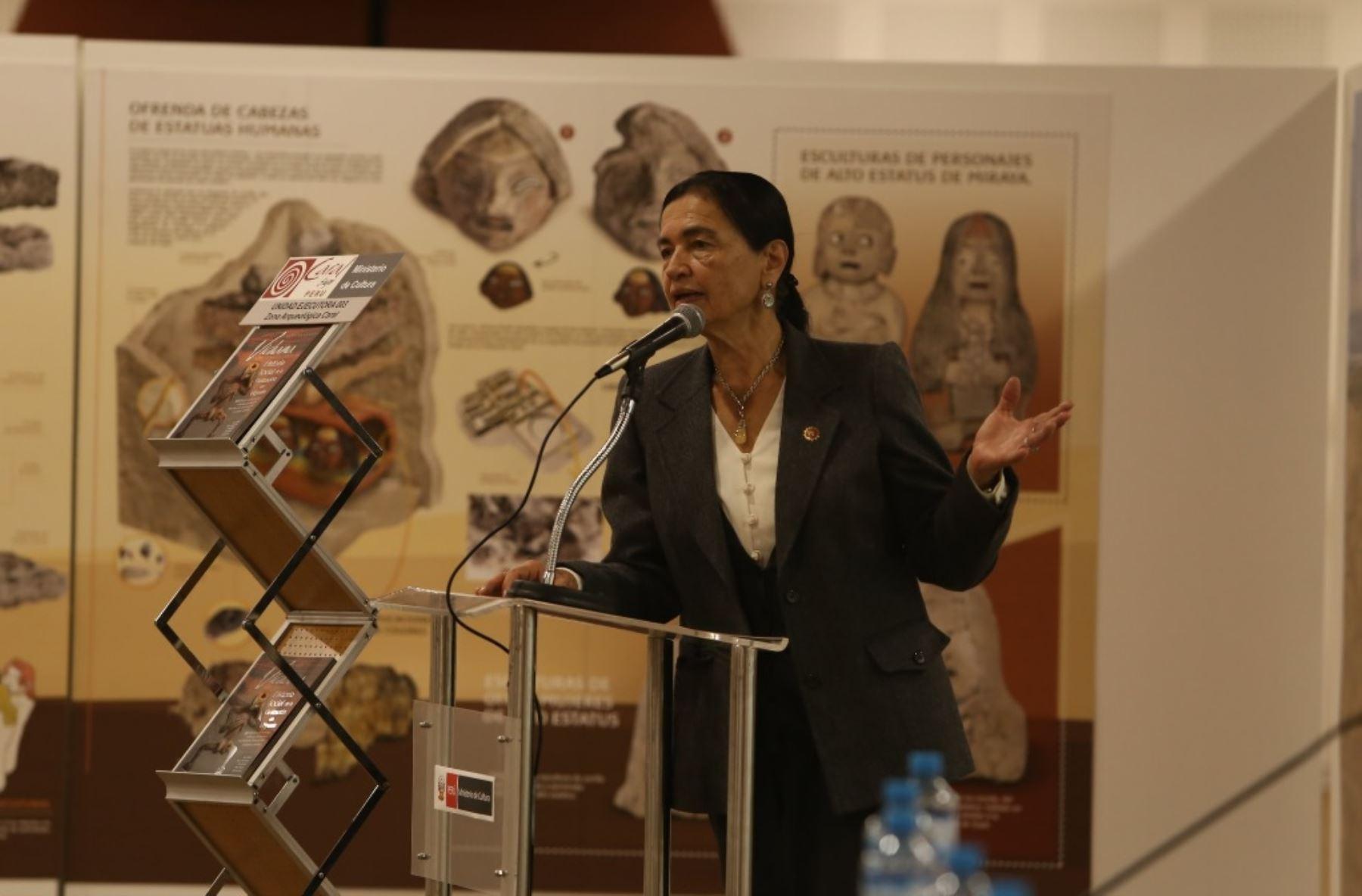 La directora de la Zona Arqueológica Caral, Ruth Shady, reveló que la Civilización Caral y Vichama, sociedad agropesquera de Végueta-Huacho compartieron creencias y manifestaciones ideológicas.