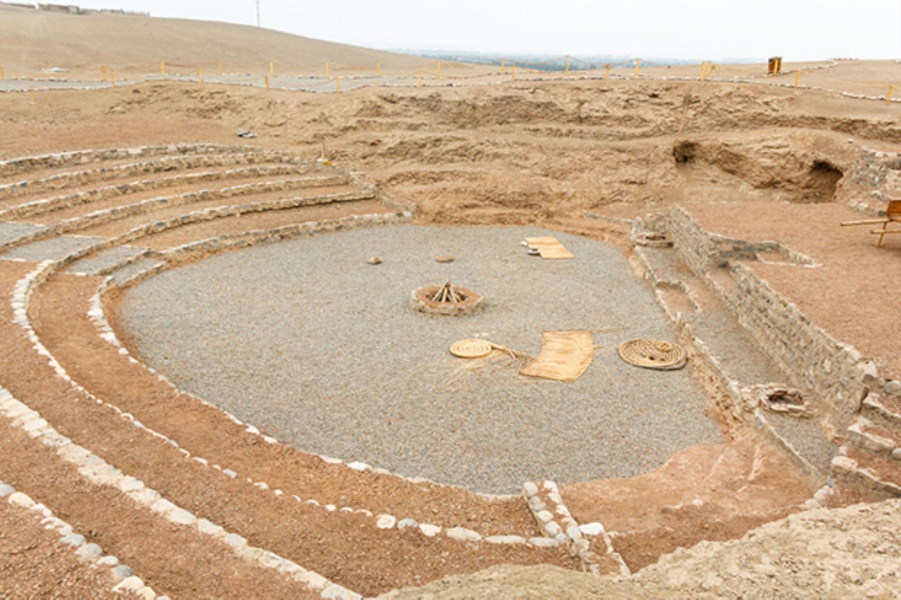 Complejo arqueológico de Vichama, sociedad agropesquera de Végueta-Huacho