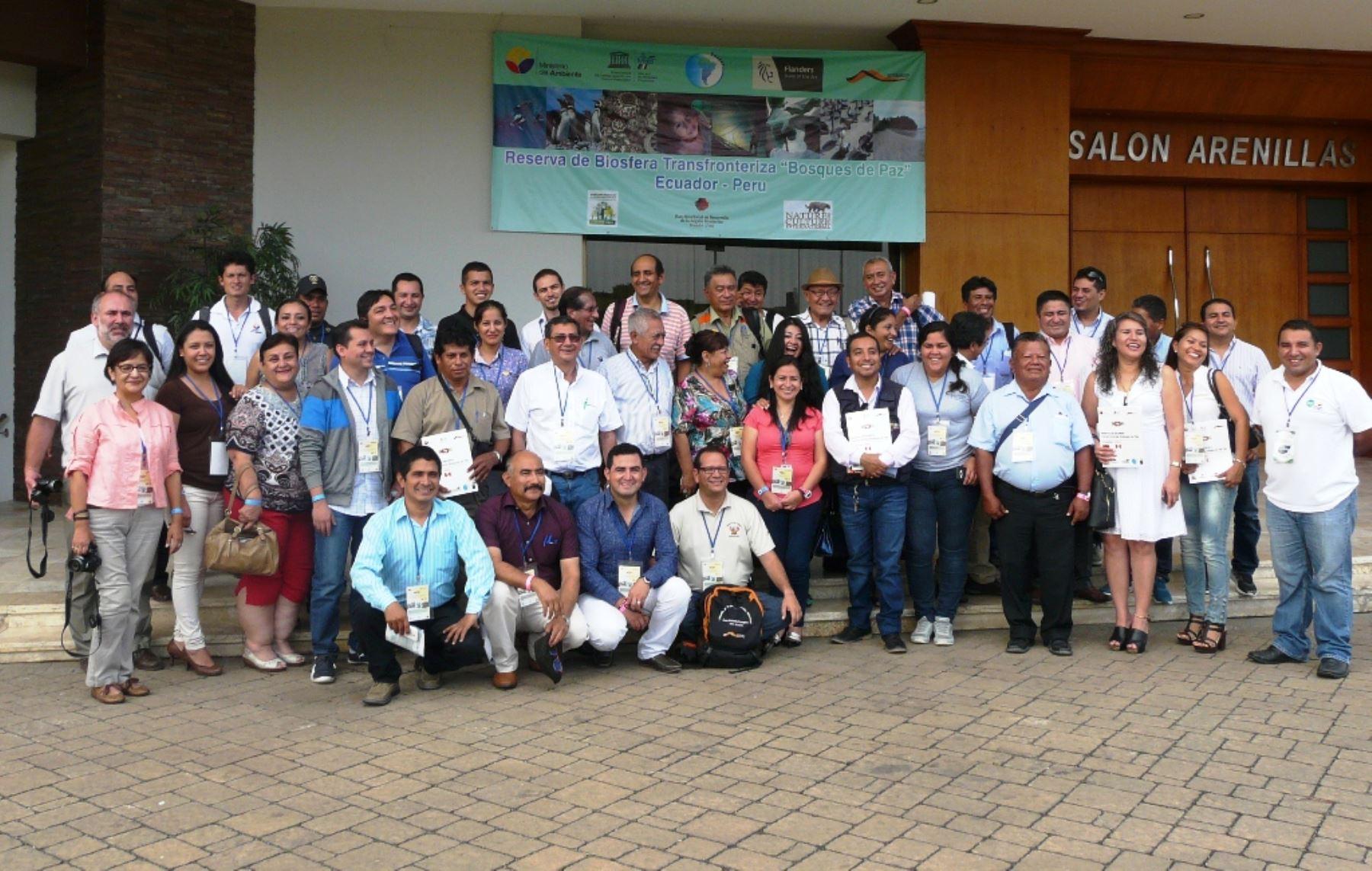 Autoridades y especialistas de Perú y Ecuador impulsan creación de Reserva de Biósfera Transfronteriza. ANDINA