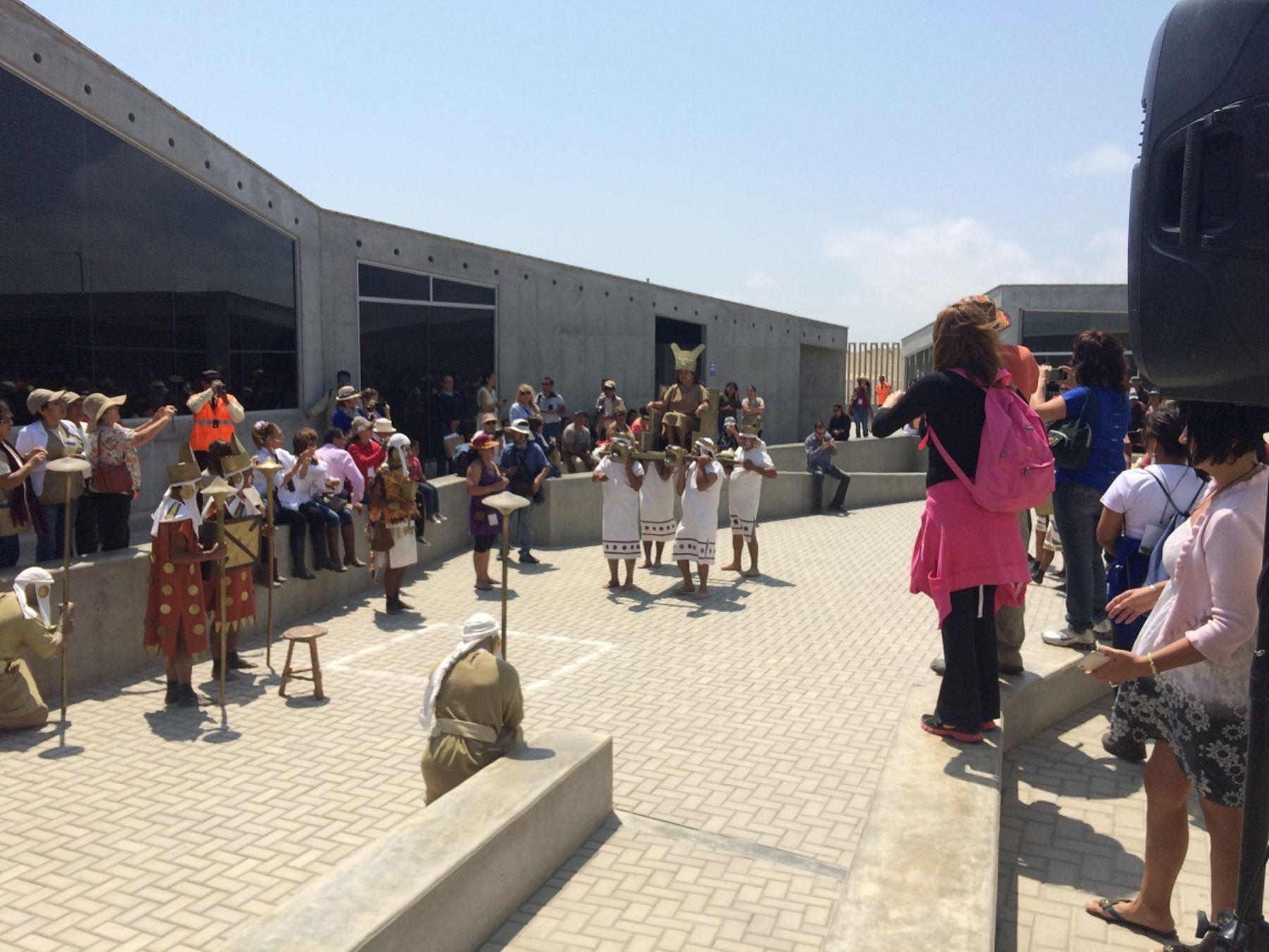 Más de 43,000 personas han visitado el complejo arqueológico El Brujo. ANDINA