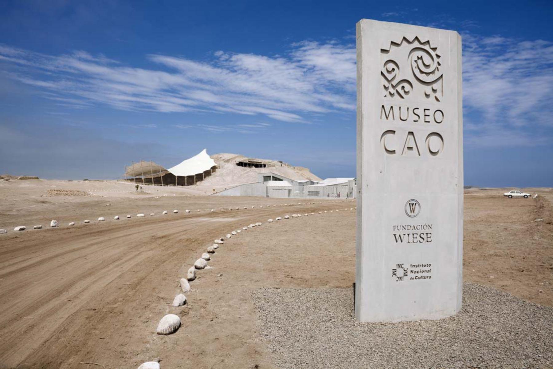 Gracias a la participación de diversas instituciones se construyó el museo en el complejo arqueológico El Brujo. ANDINA