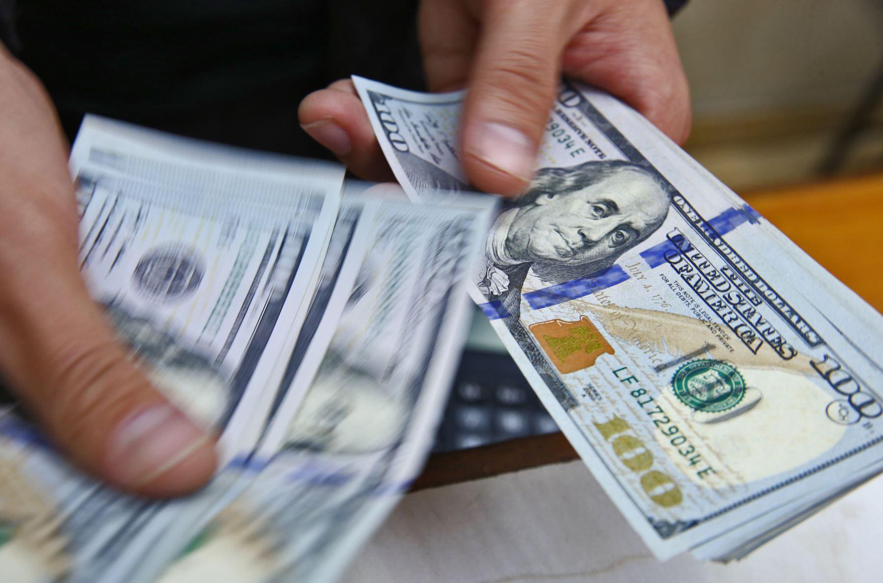 Dólar subiría un poco en el corto plazo.Foto:  ANDINA/archivo.