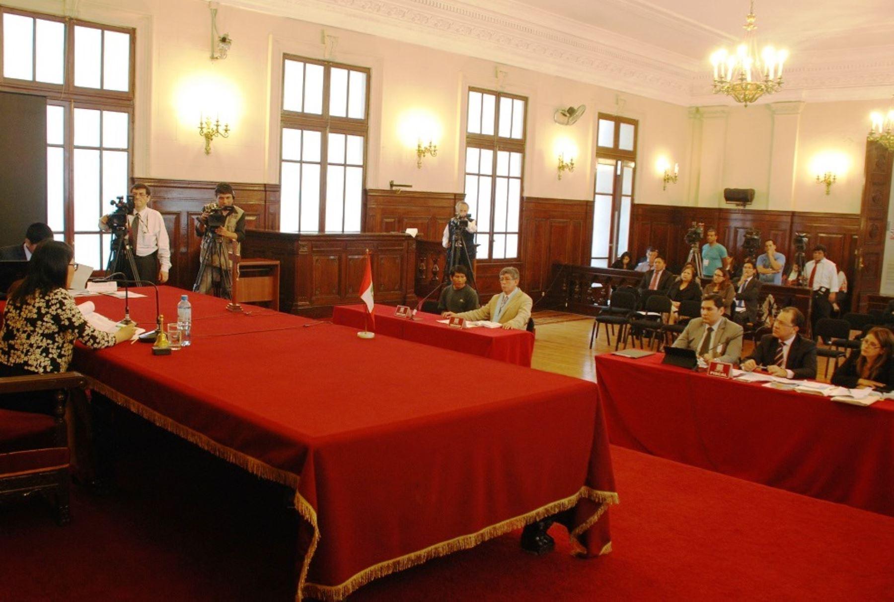 Juzgados de flagrancia procesaron a cerca de 39 mil personas en todo el Perú. Foto: ANDINA/Difusión.