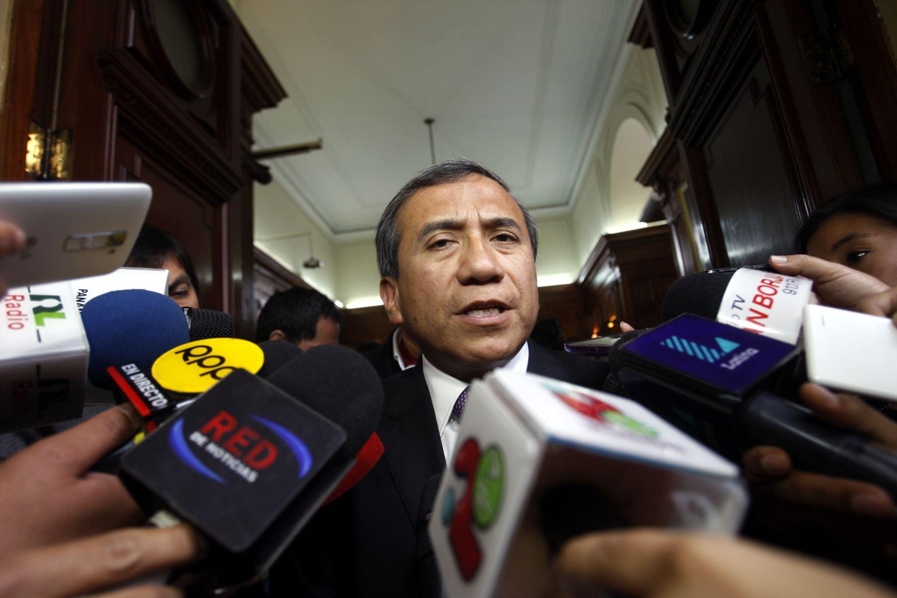 Exintegrante de la Comisión para la Reforma del Sistema de Justicia, Samuel Abad. Foto: ANDINA.