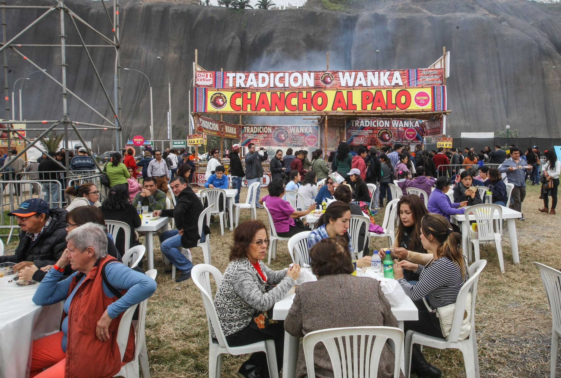 Feria peruana gastronómica Mistura. ANDINA