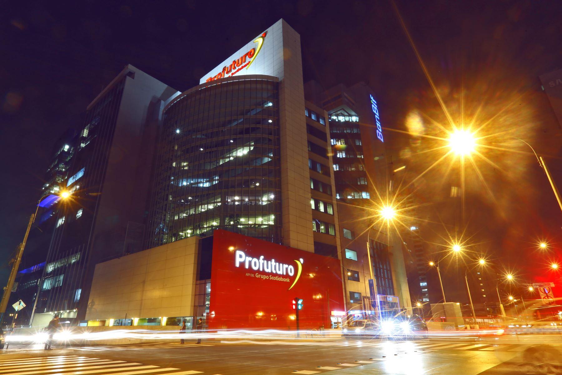 Centro financiero de Lima.Foto: ANDINA/archivo.
