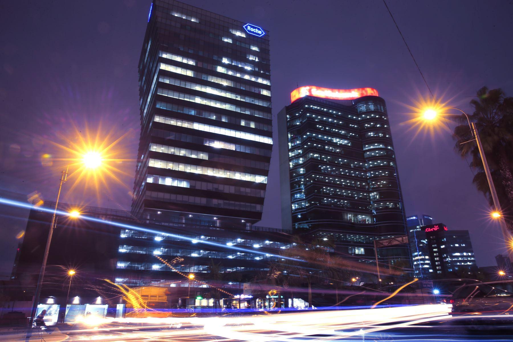 Centro financiero de Lima. ANDINA/archivo