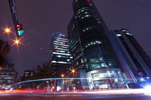 Vista del centro financiero de Lima. ANDINA/archivo