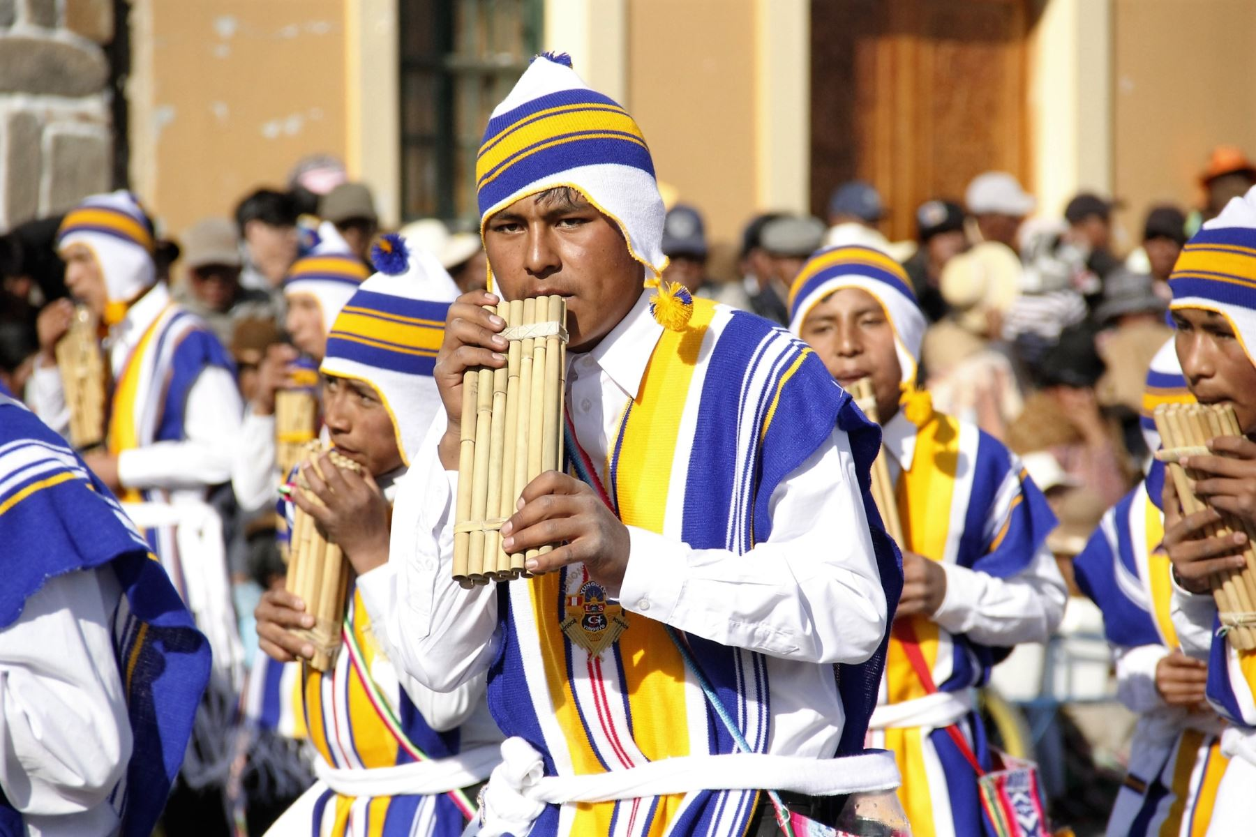 Población de Yunguyo se prepara para fiesta de San Francisco de Borja. ANDINA