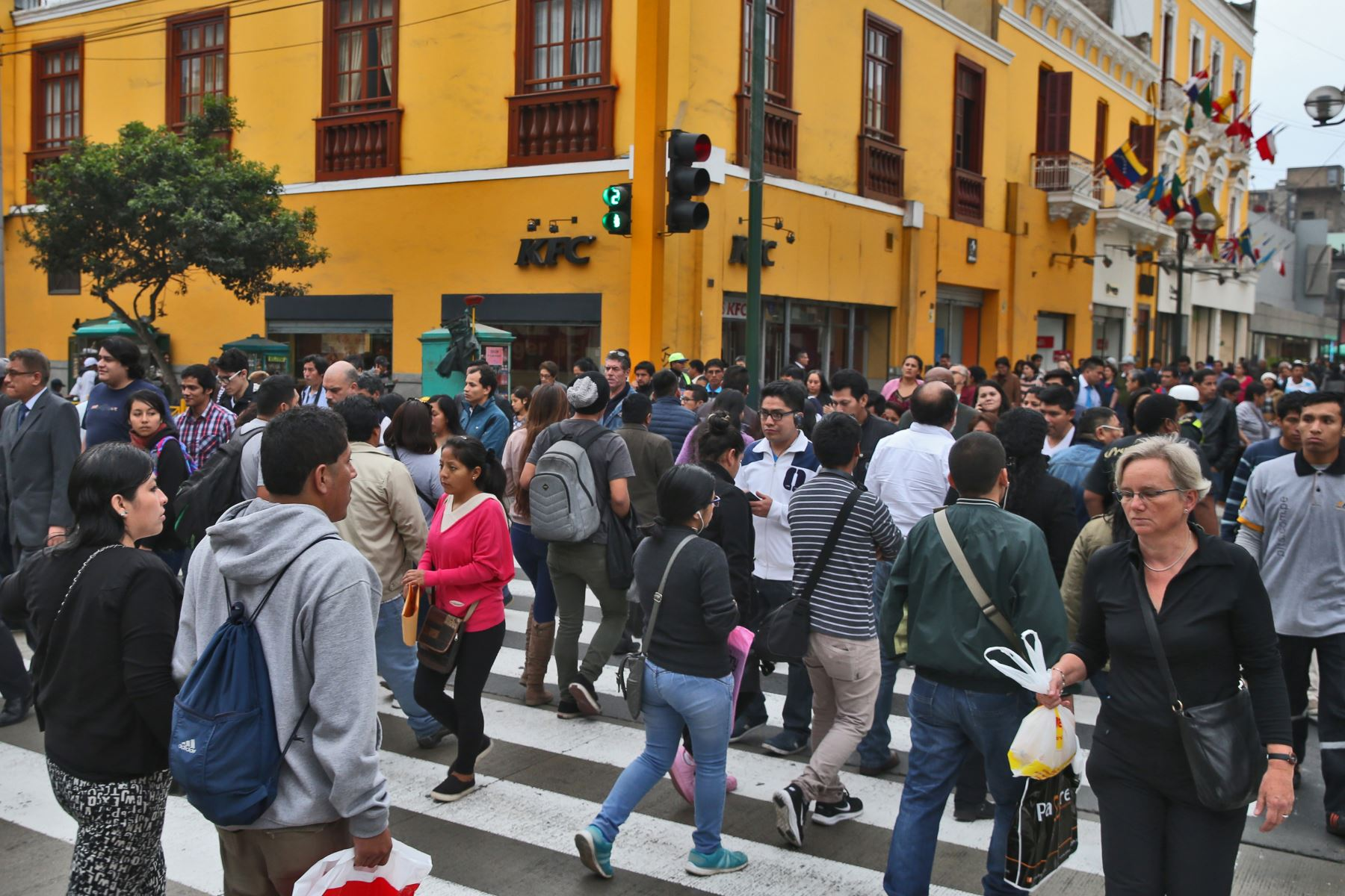 Centro de Lima. ANDINA/archivo