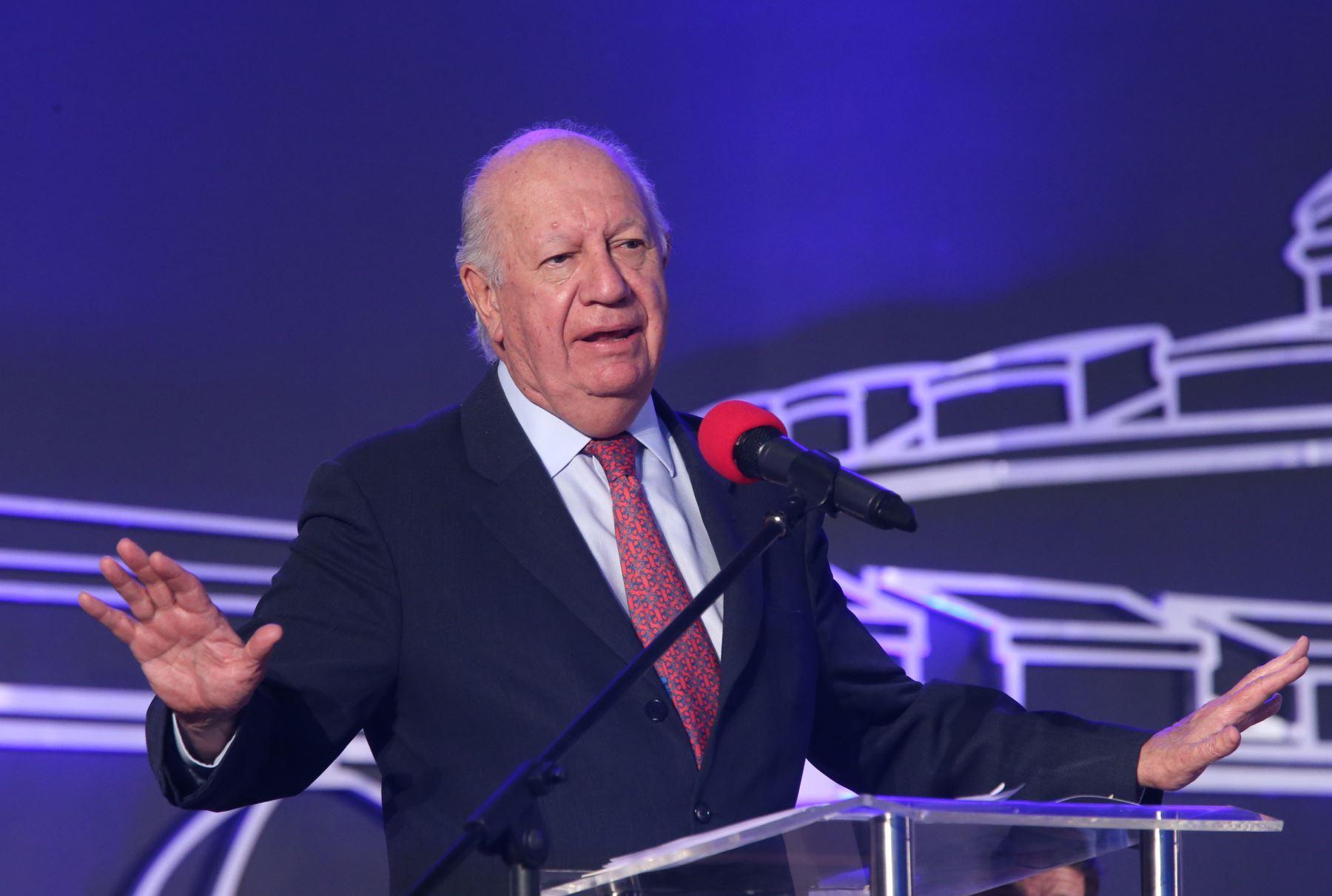 Expresidente de Chile, Ricardo Lagos. Foto: ANDINA/Norman Córdova