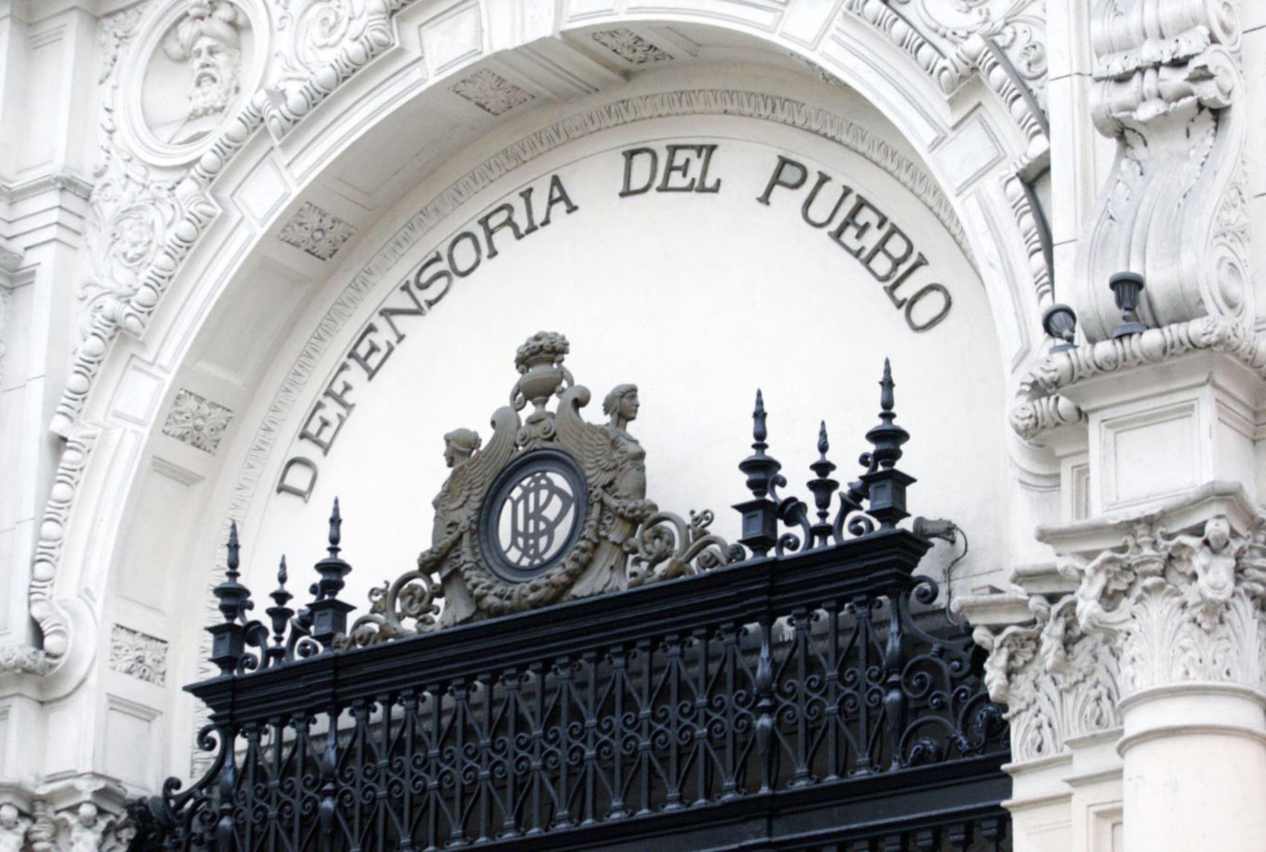 LIMA, PERÚ-SETIEMBRE 30. Fachada Defensoría del Pueblo. Foto: ANDINA/Eddy Ramos.