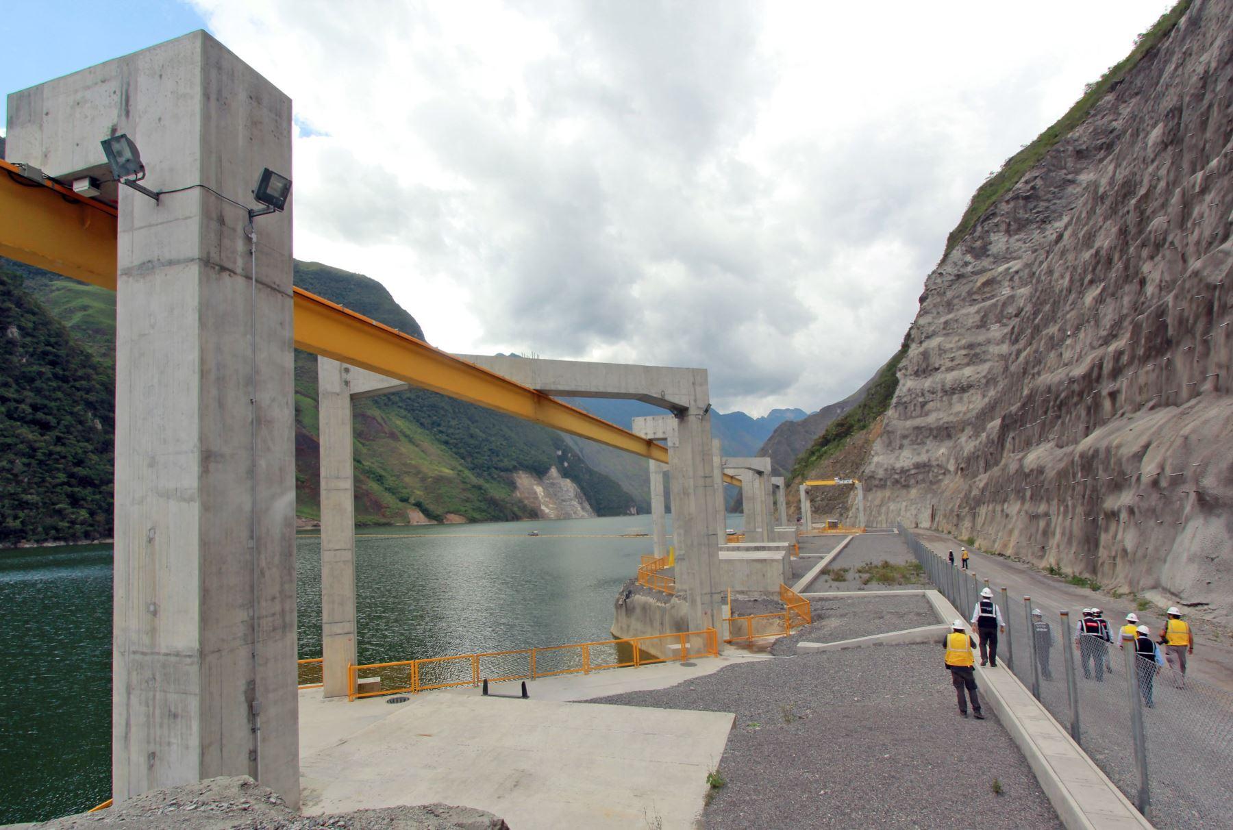 Central Hidroeléctrica de Chaglla. Foto: ANDINA