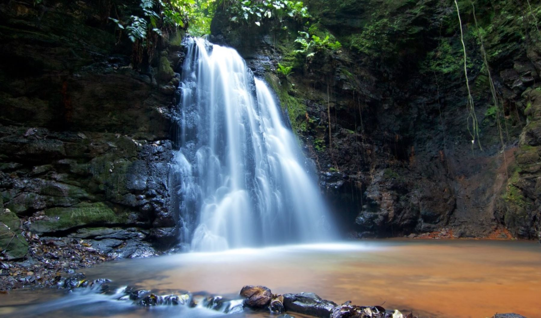Catarata en el Parque Nacional Sierra del Divisor. Foto: Facebook/Parque Nacional Sierra del Divisor.