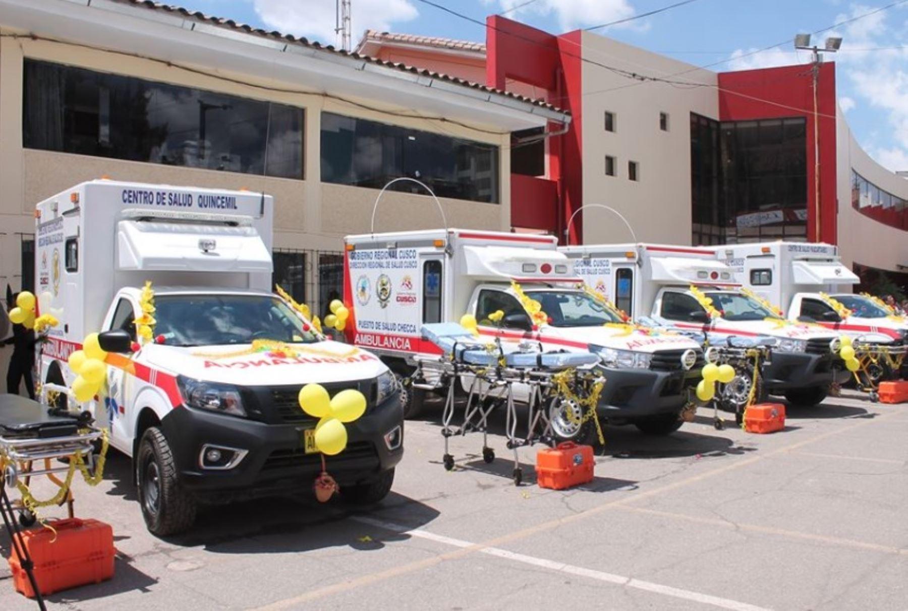 Mejorarán atención en establecimientos de salud de Chumbivilcas, en Cusco. ANDINA/Difusión