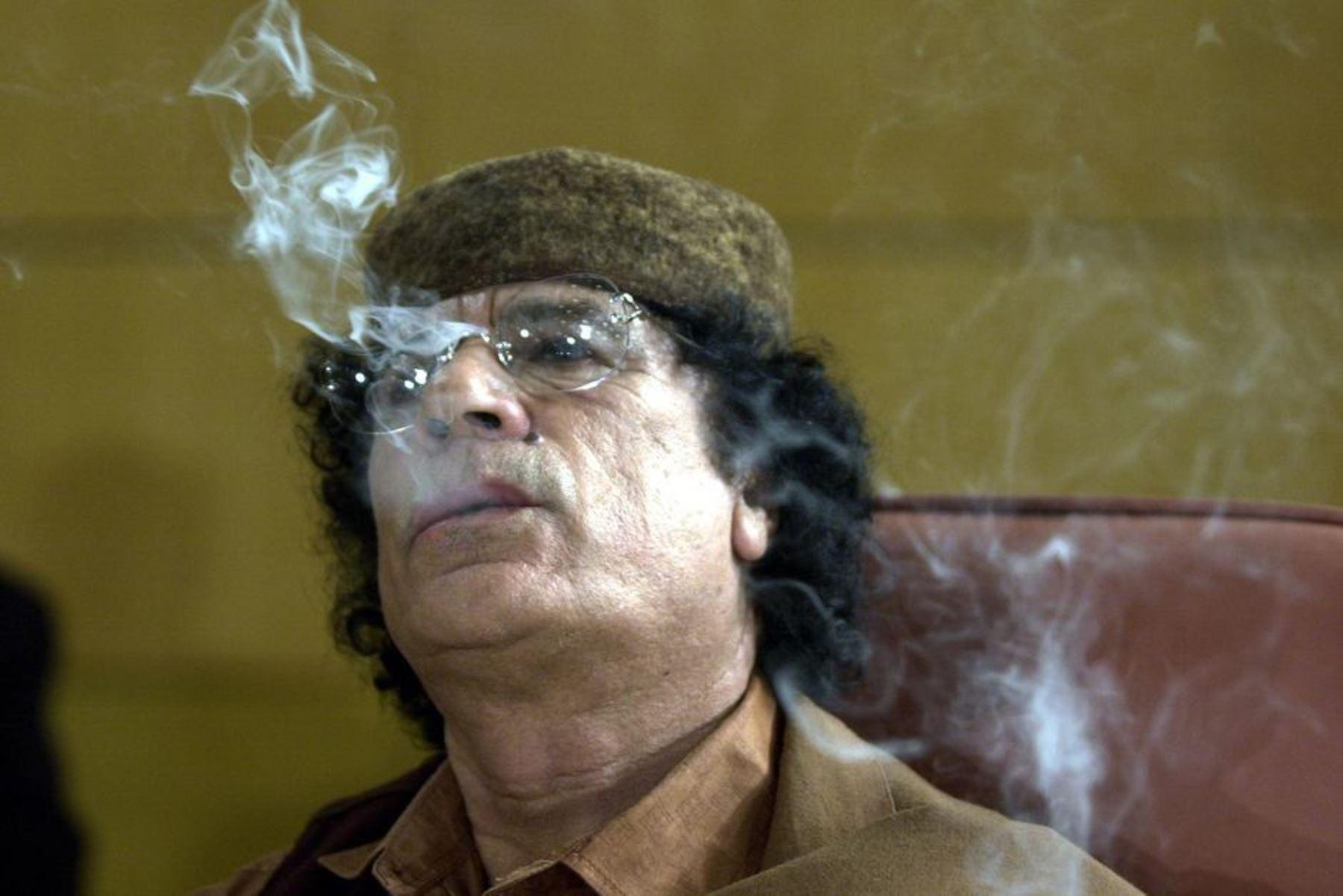Gadafi. Foto: AFP
