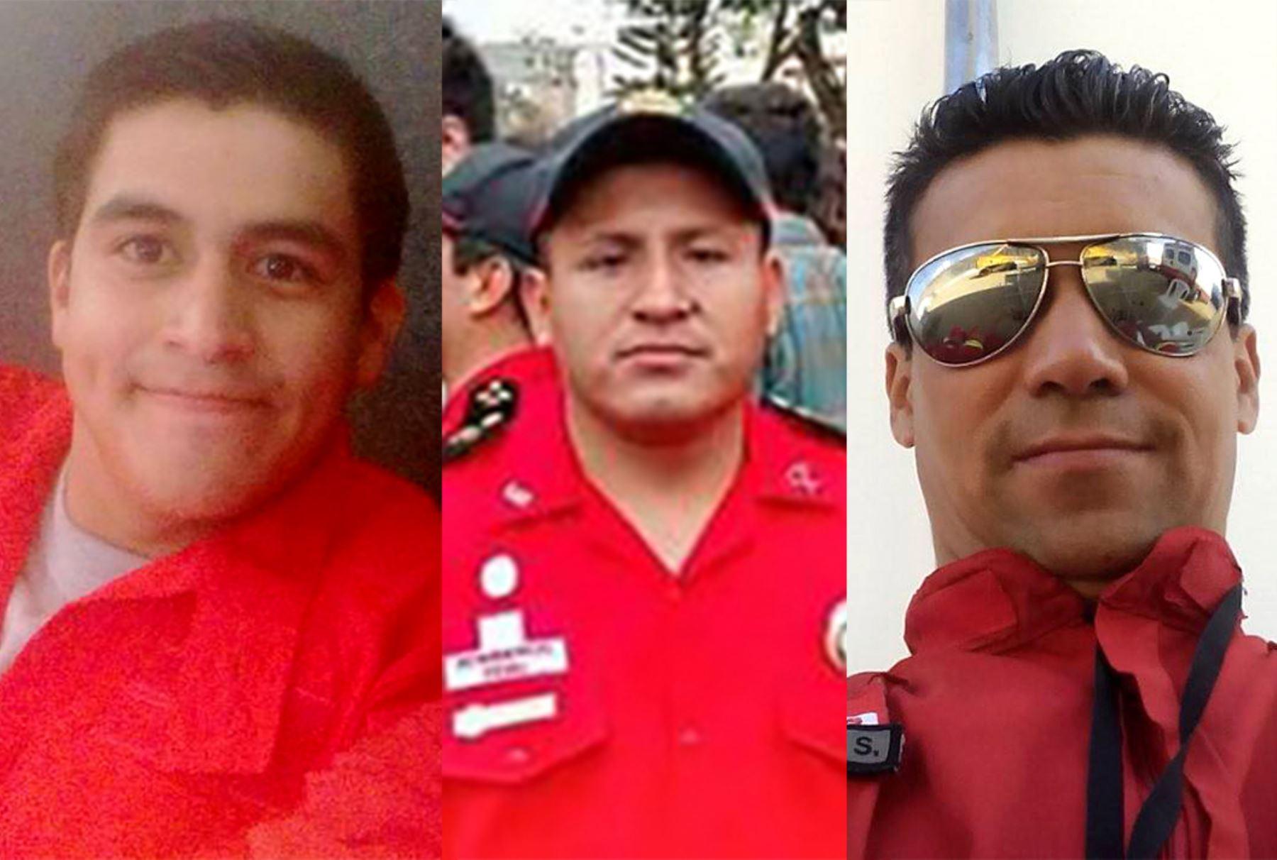 19/10/2016.  Alonso Salas Chanduví, Raúl Lee Sánchez Torres y Eduardo Jiménez Soriano.