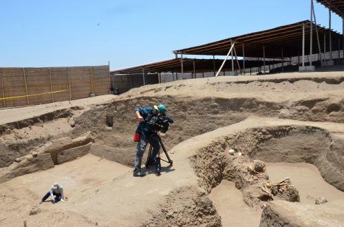 Investigaciones en Chotuna-Chornancap, en la región Lambayeque. FOTO: ANDINA/Archivo